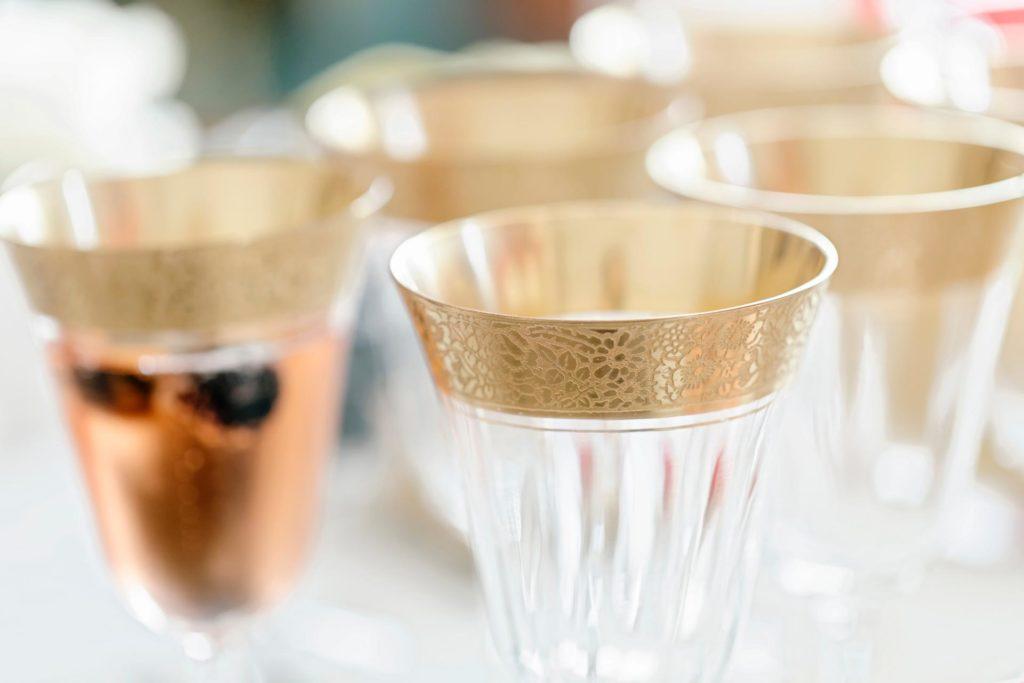 Gold Wedding Glasses