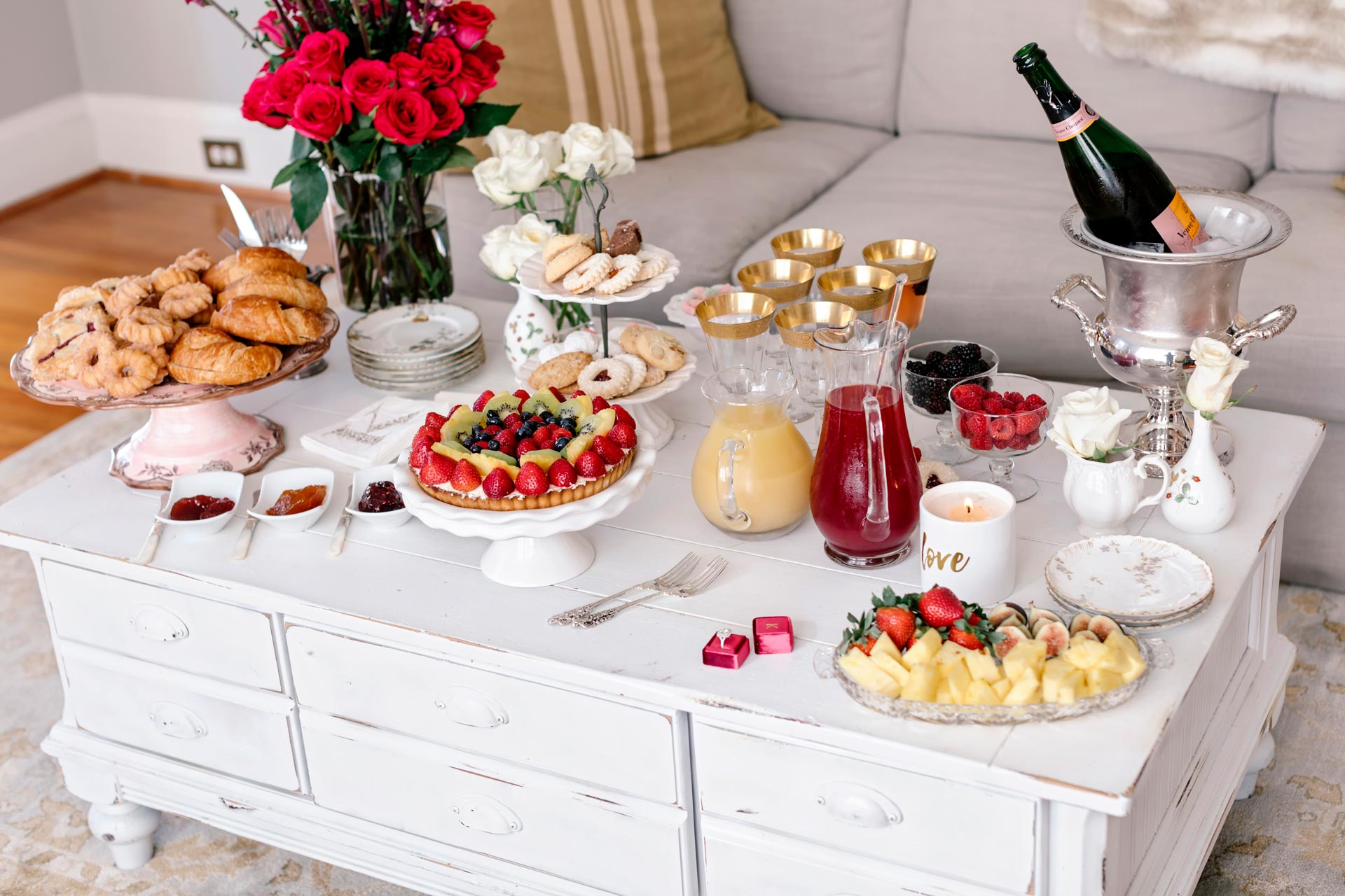 Styled Wedding Breakfast