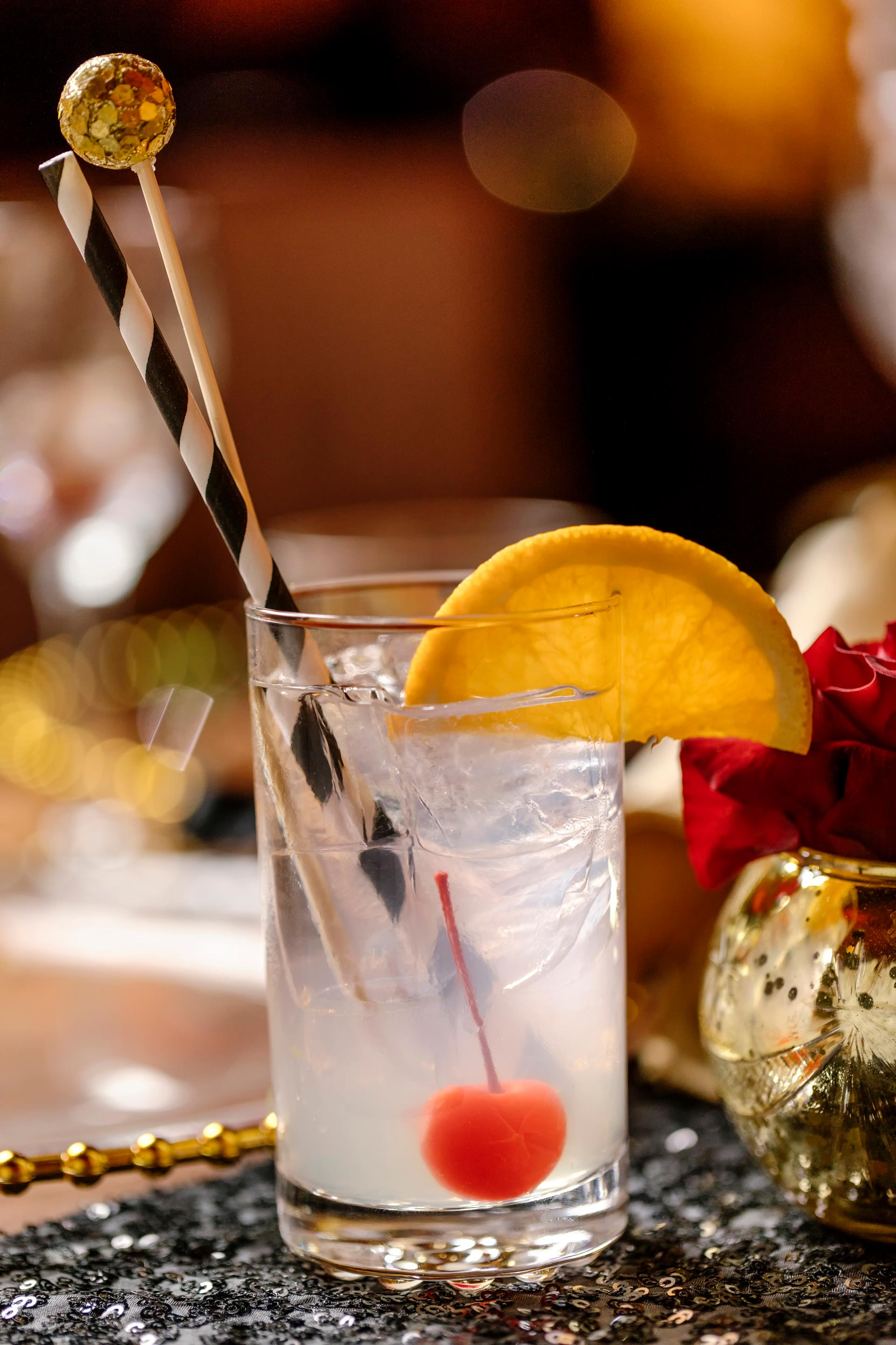 Signature Wedding Drink Tom Collins