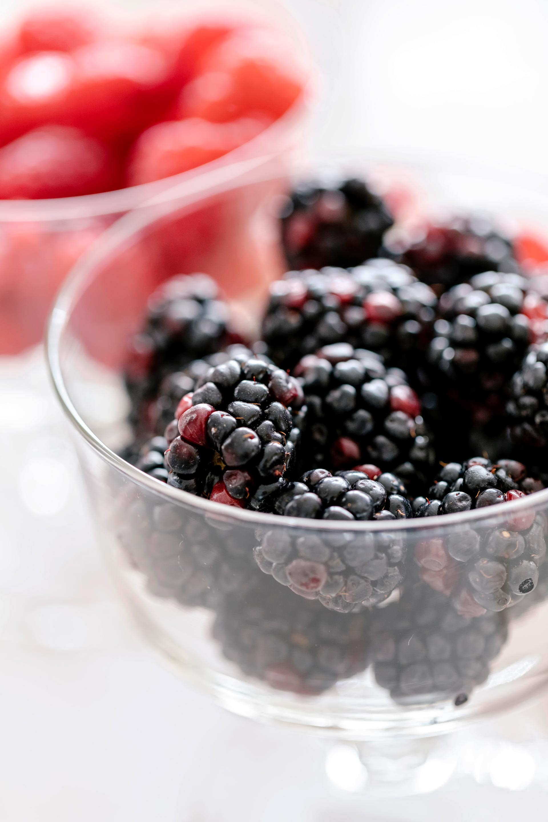 Styled Blackberries