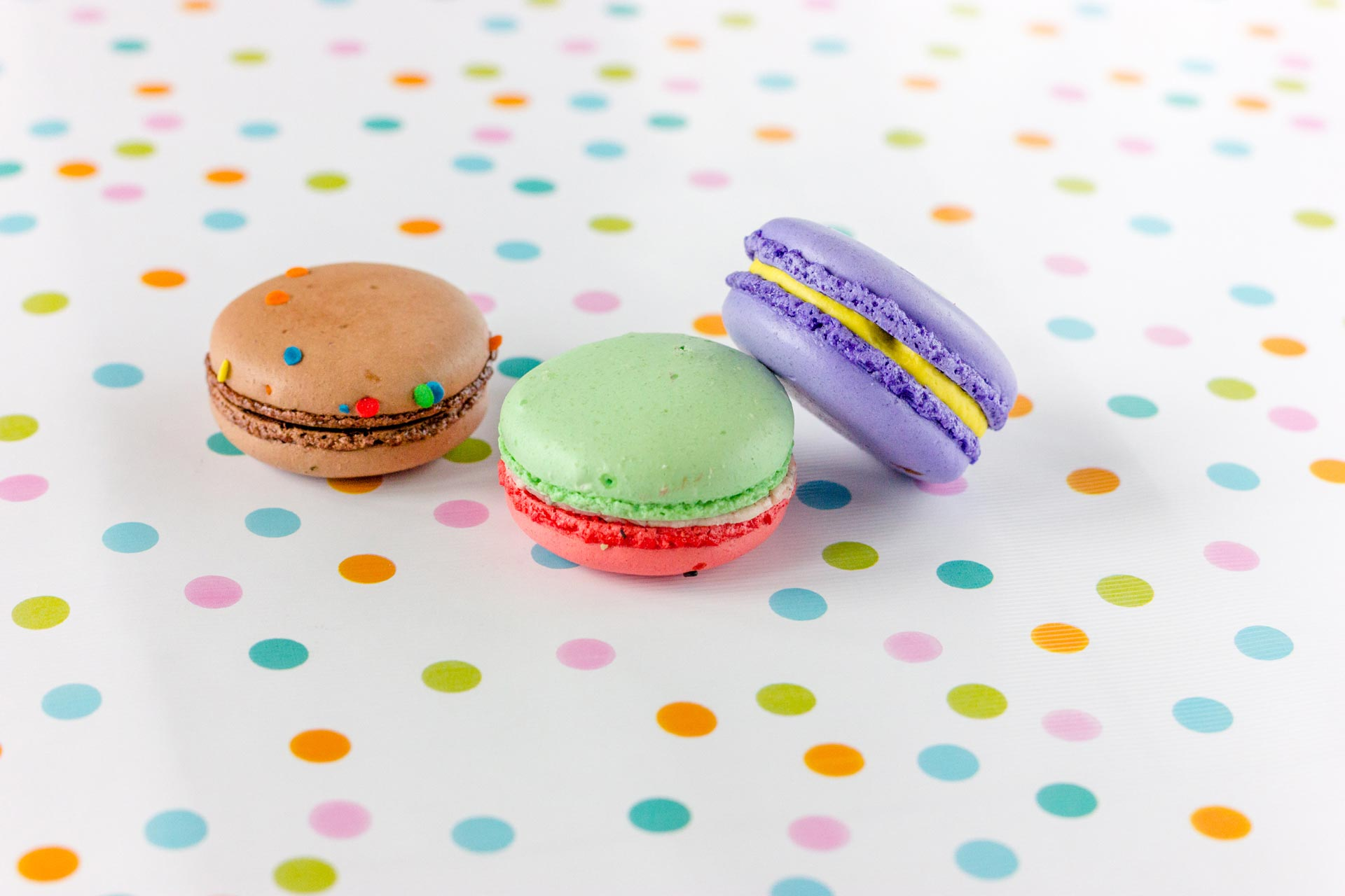 Colorful Macaron Styled Cookies