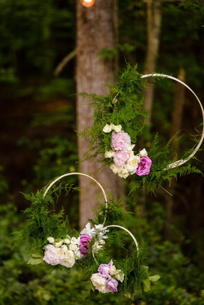 Wedding Hanging Floral Hoops
