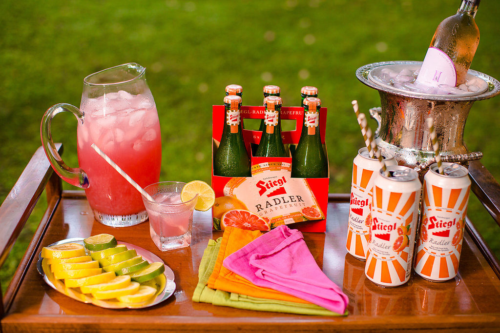 Summer Dinner Party Bar Inspiration