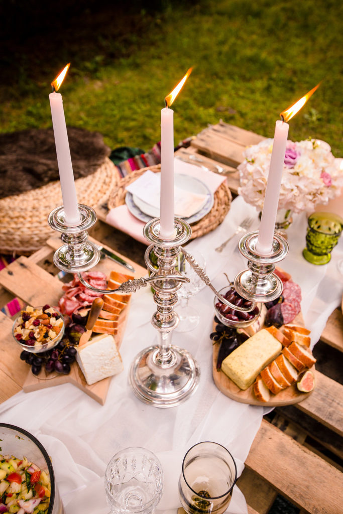 Boho Glam Dinner Party Inspiration