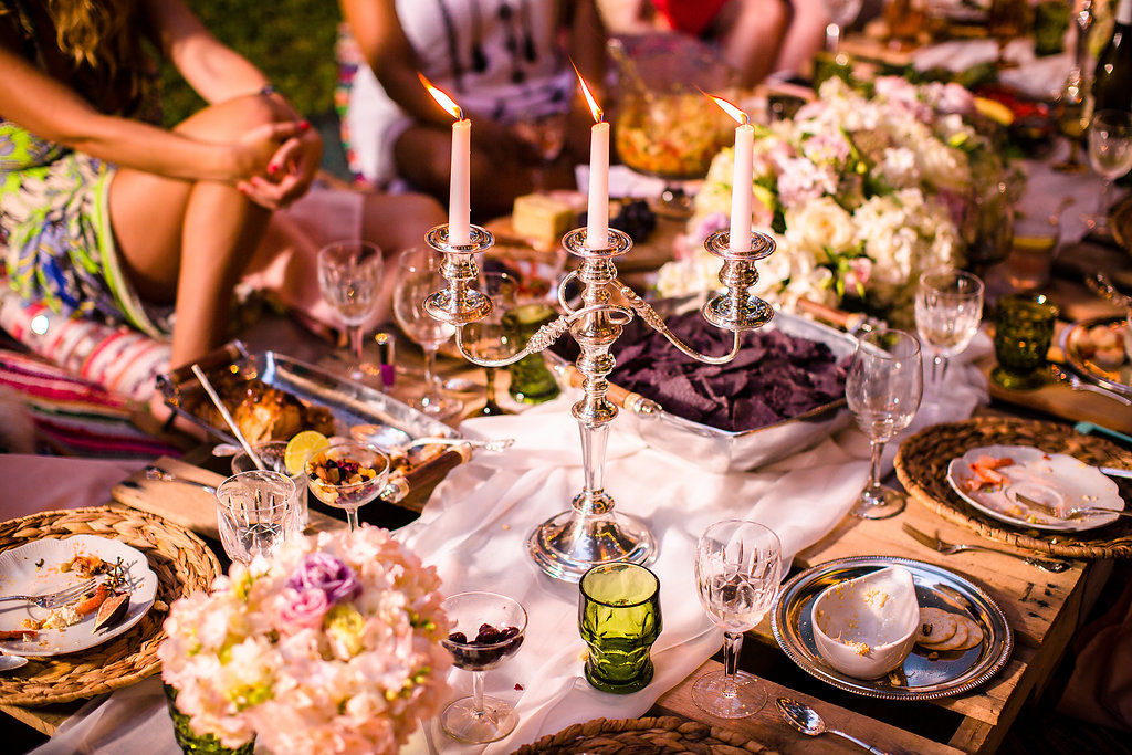 Bohemian Glam Summer Dinner Party