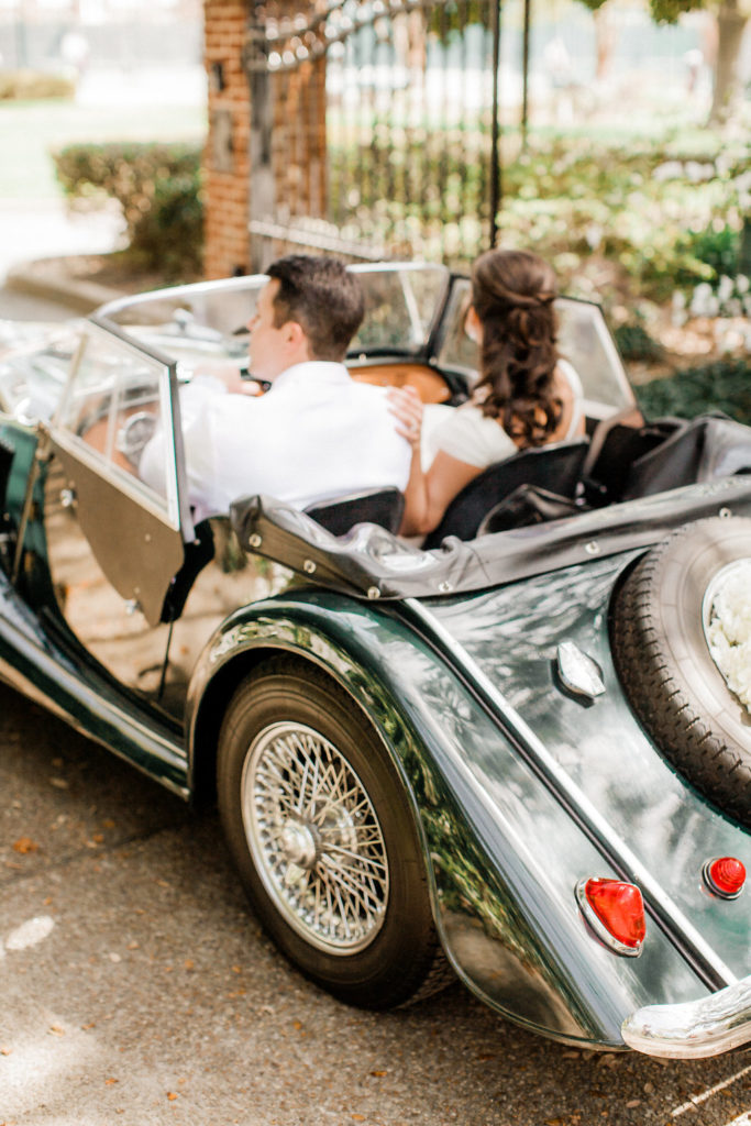 Vintage Car for Weddings