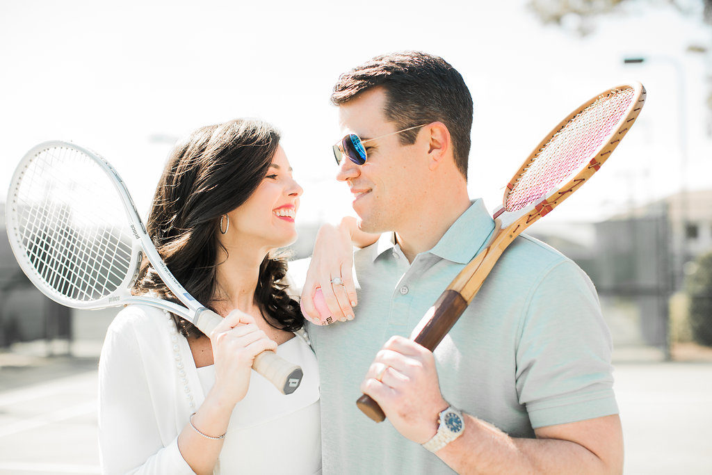 Tennis Styled Wedding Shoot