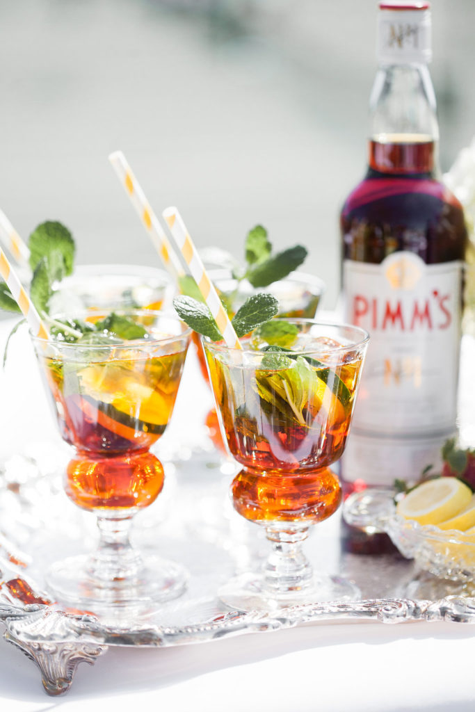 Wimbledon Pimm's Cup Cocktail