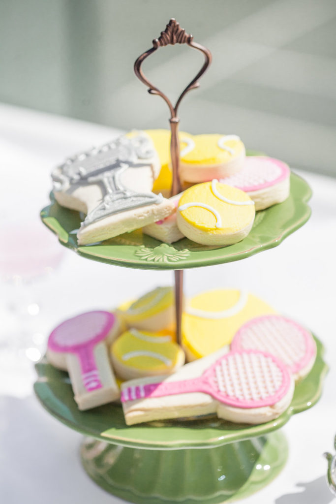 cookies for tennis themed party