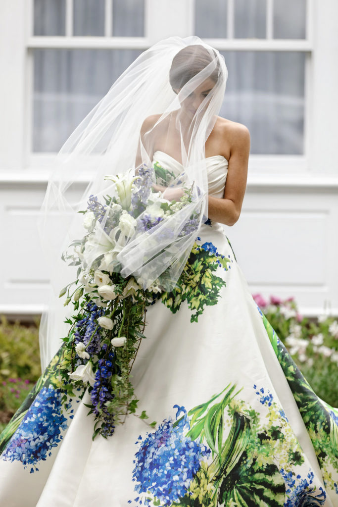 Gorgeous Floral Wedding Dress