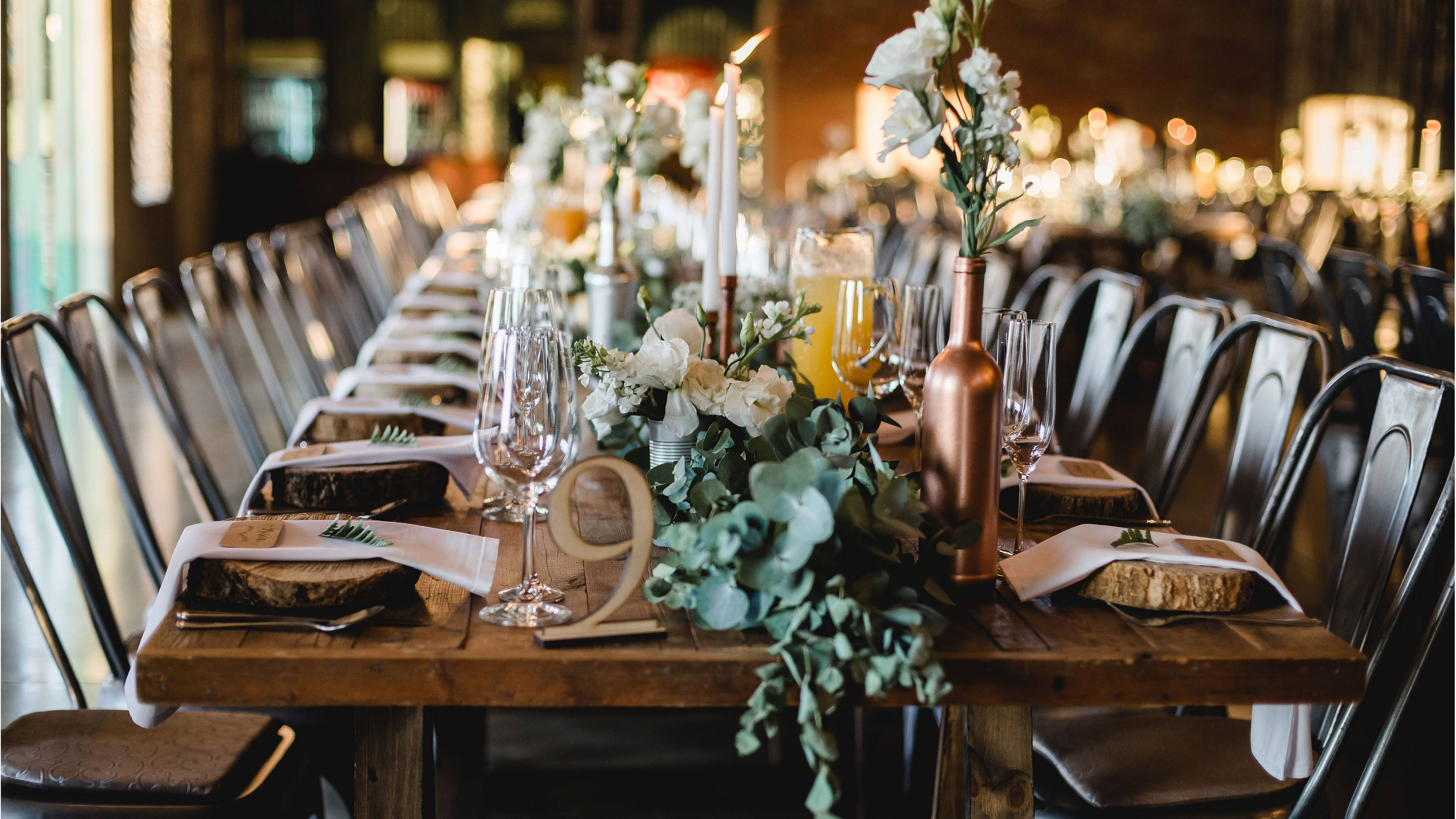 Event Stylist Winter Table Setting