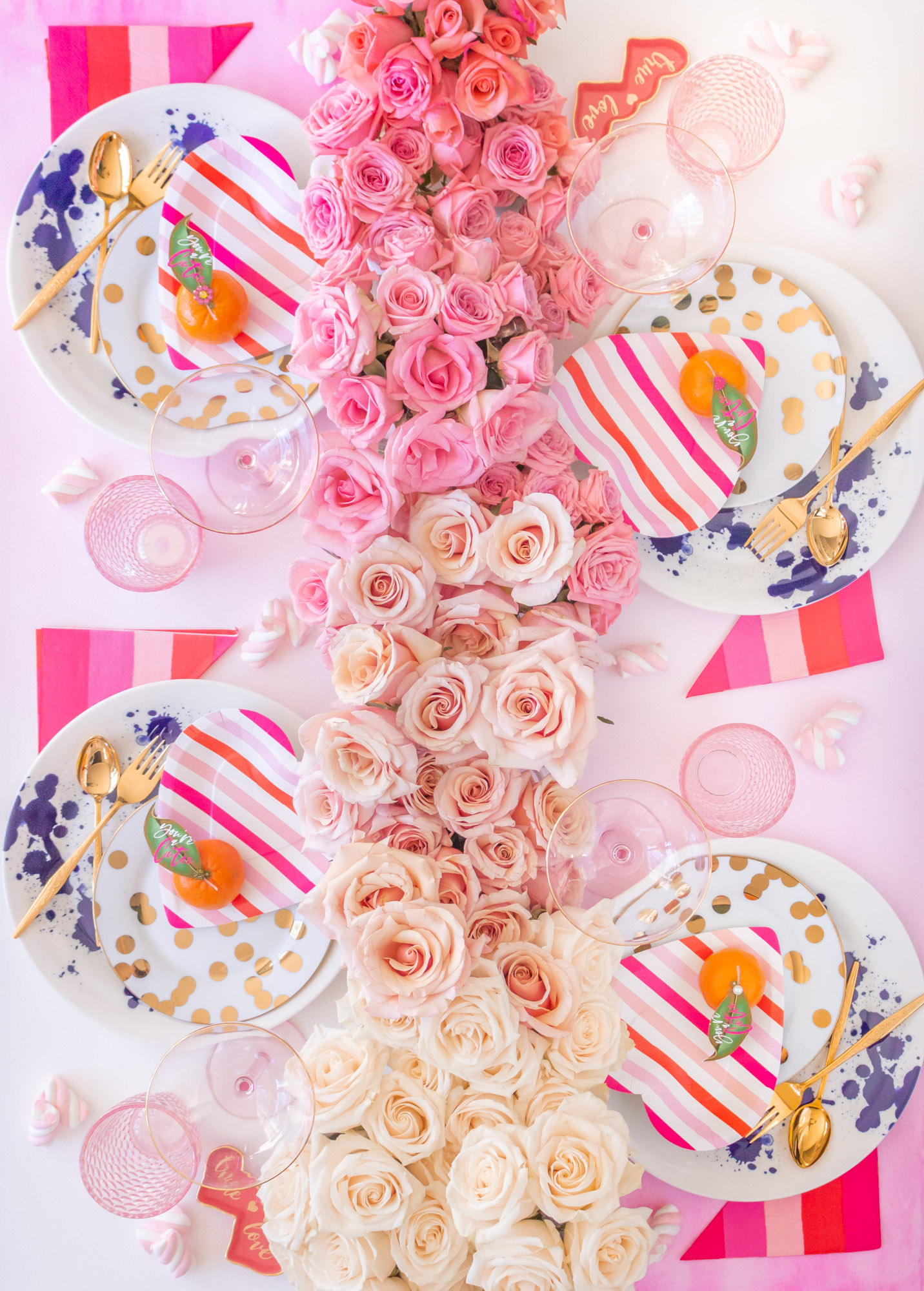 Galentine's Day Table Design