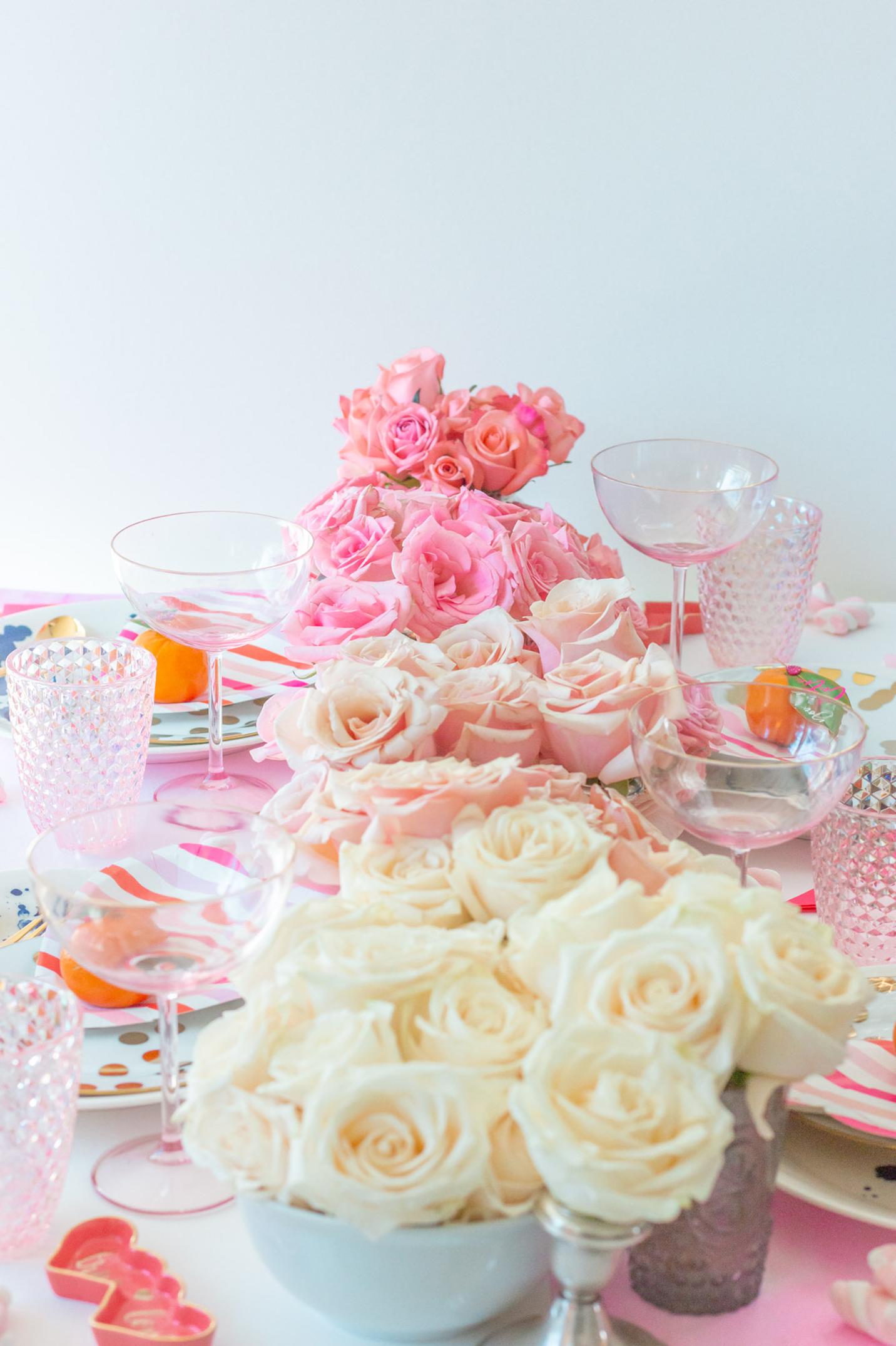 Ombre Floral Design