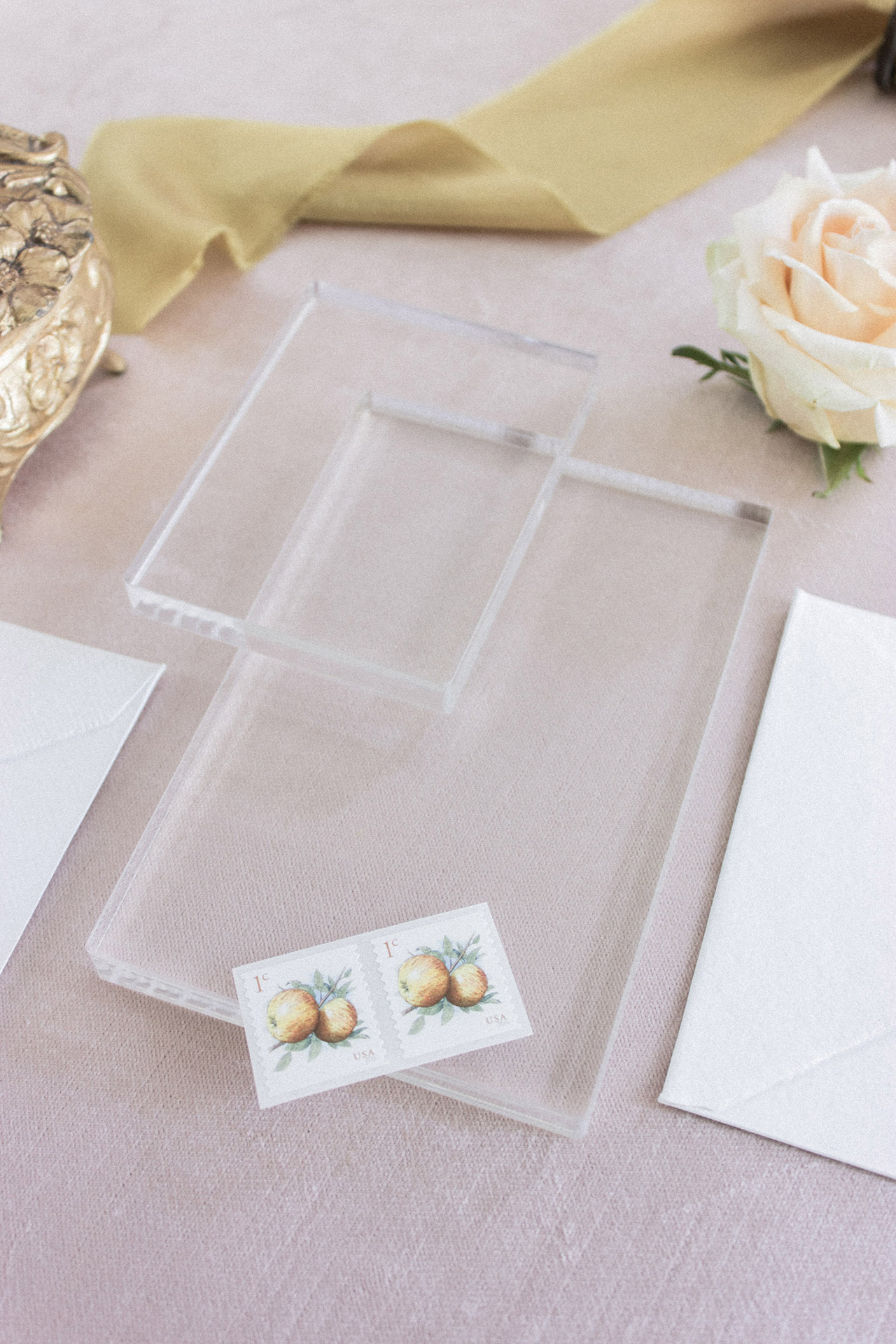 Styling Blocks for Stationery Flat Lays