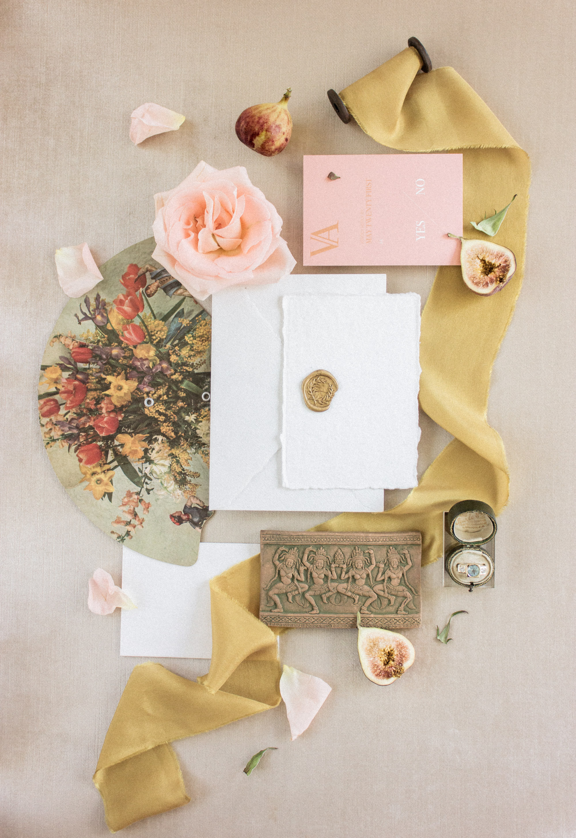 Wedding Photography Flat Lay