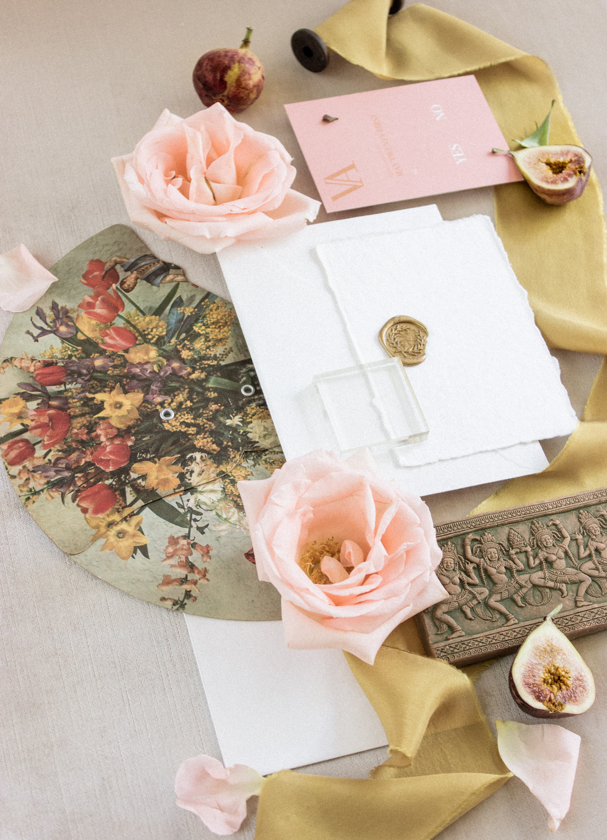 Wedding Flat Lay Props