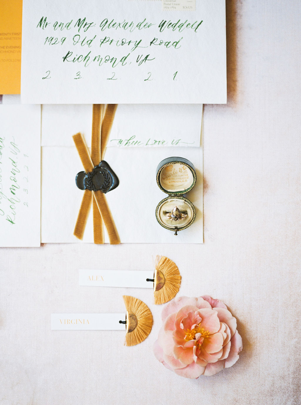 Wedding Invite Calligraphy