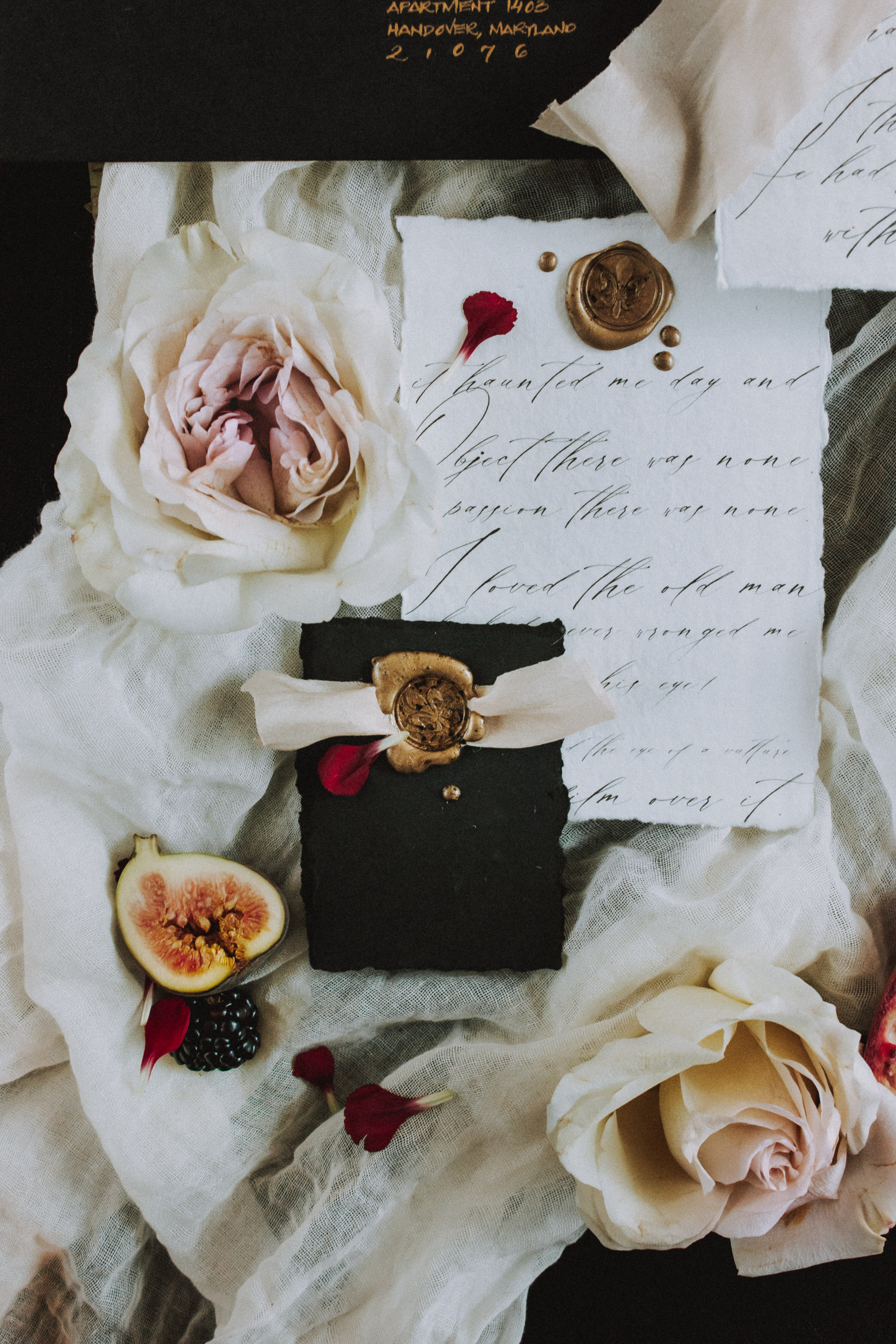 Spooky Stationery Flat Lay Inspiration