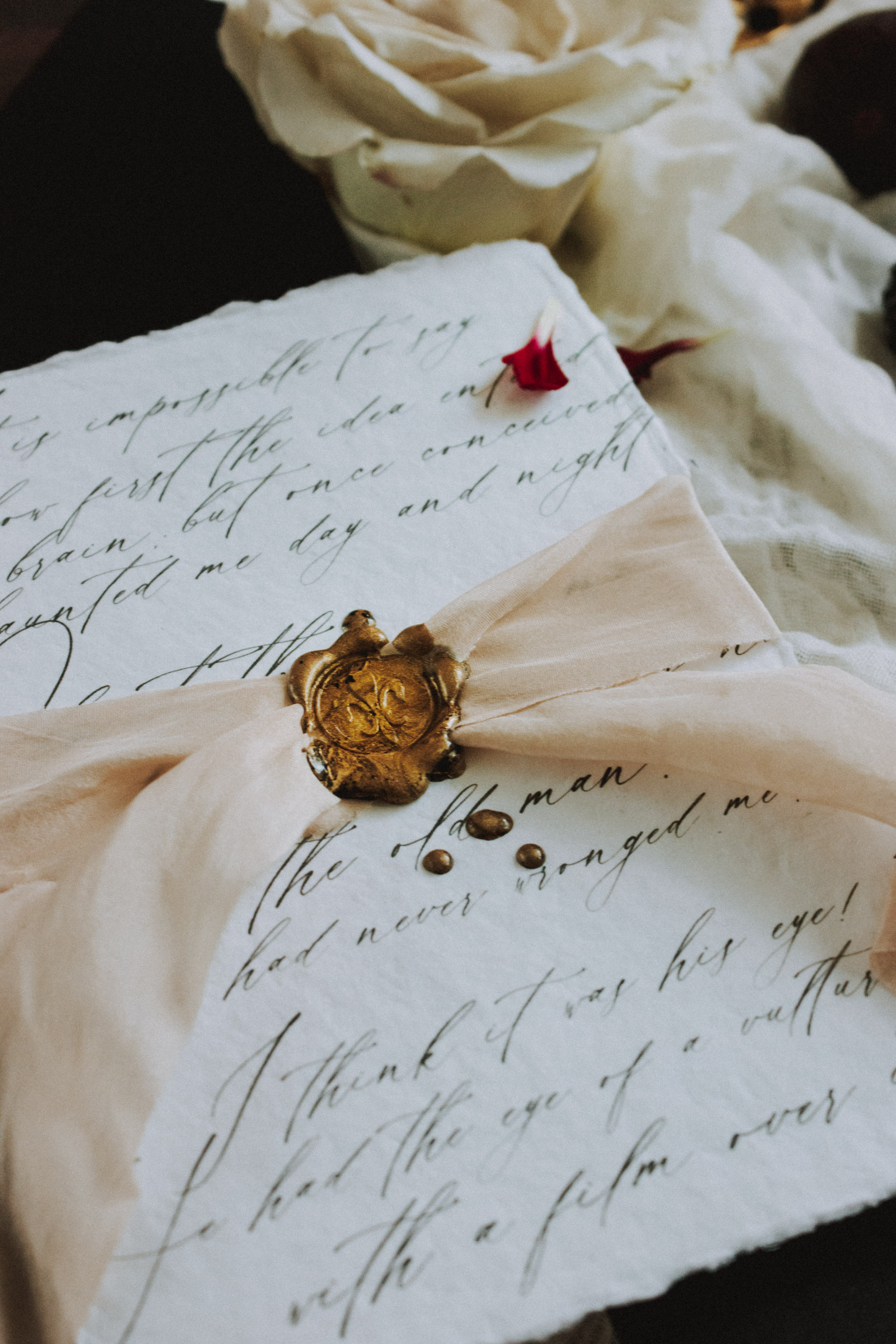 Moody Wedding Inspiration for Fall