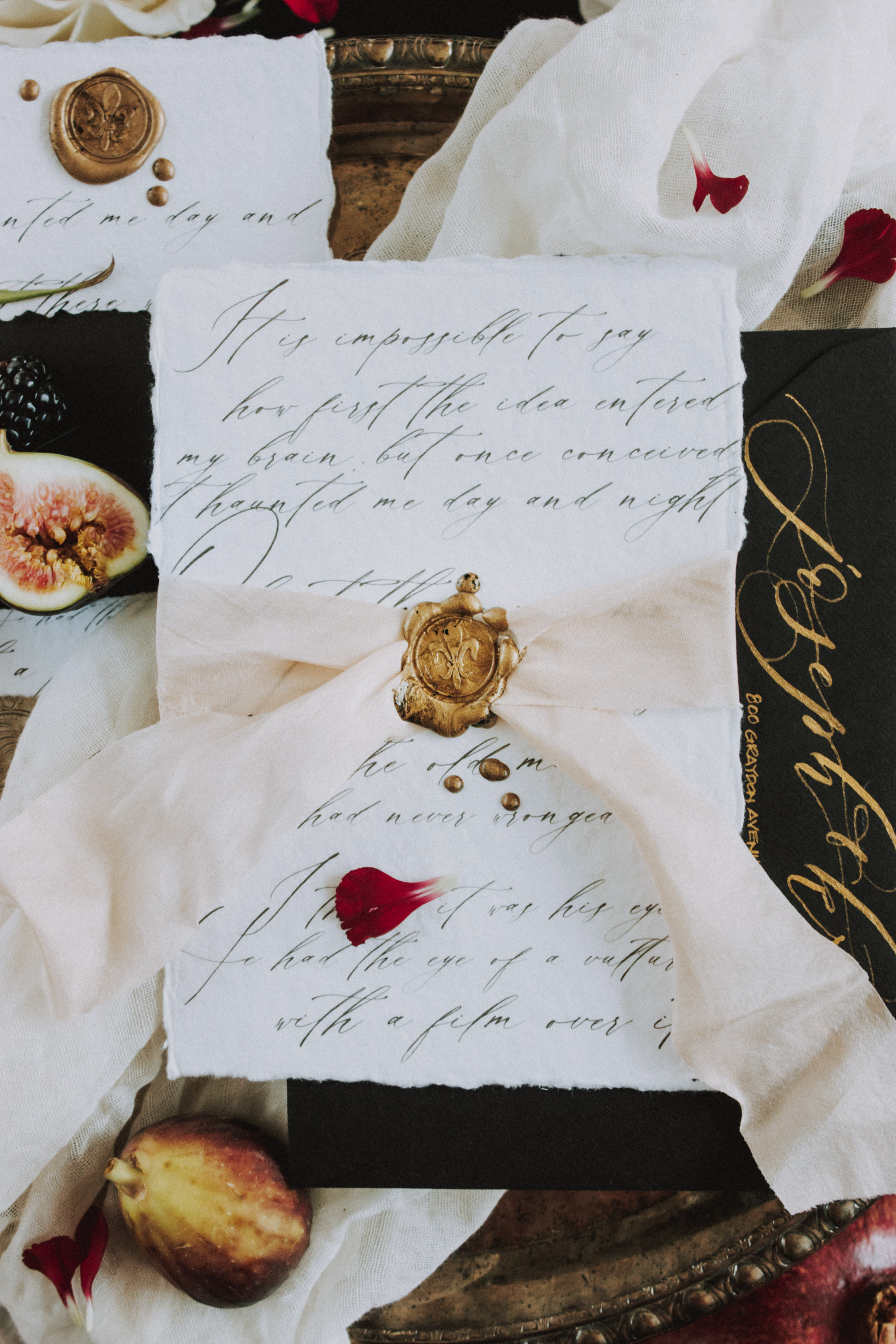 Moody Black Wedding Ideas