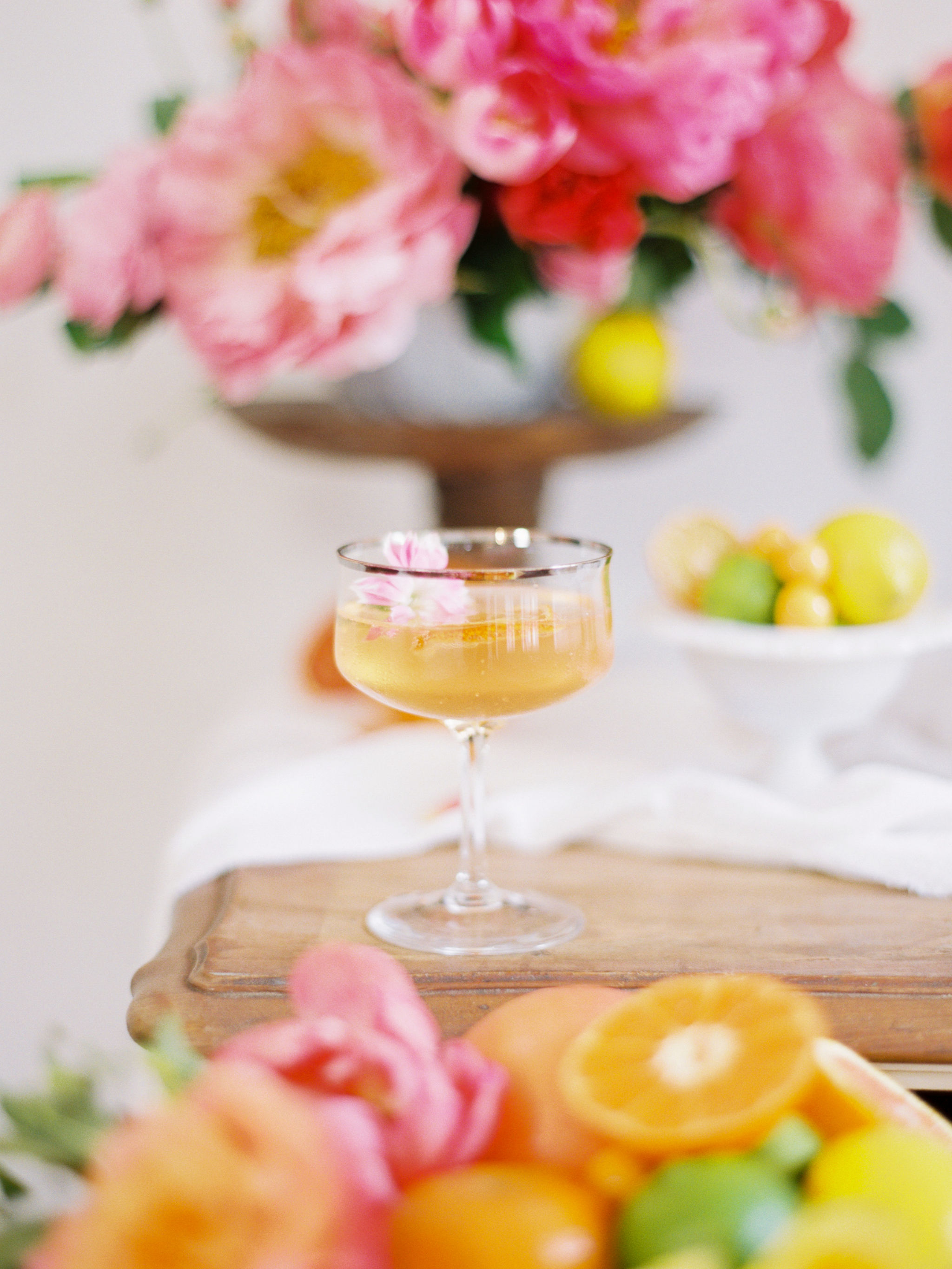 Citrus Wedding Cocktails