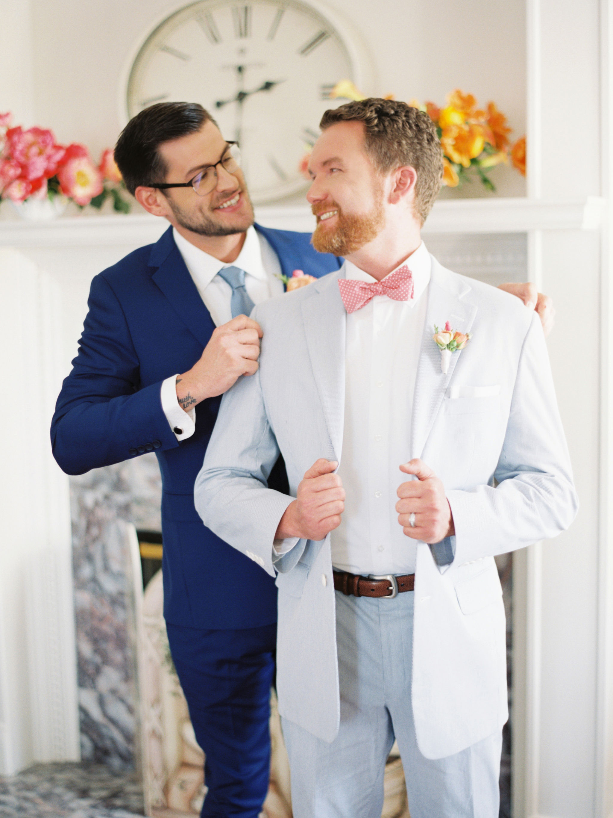 Same Sex Wedding Fashion