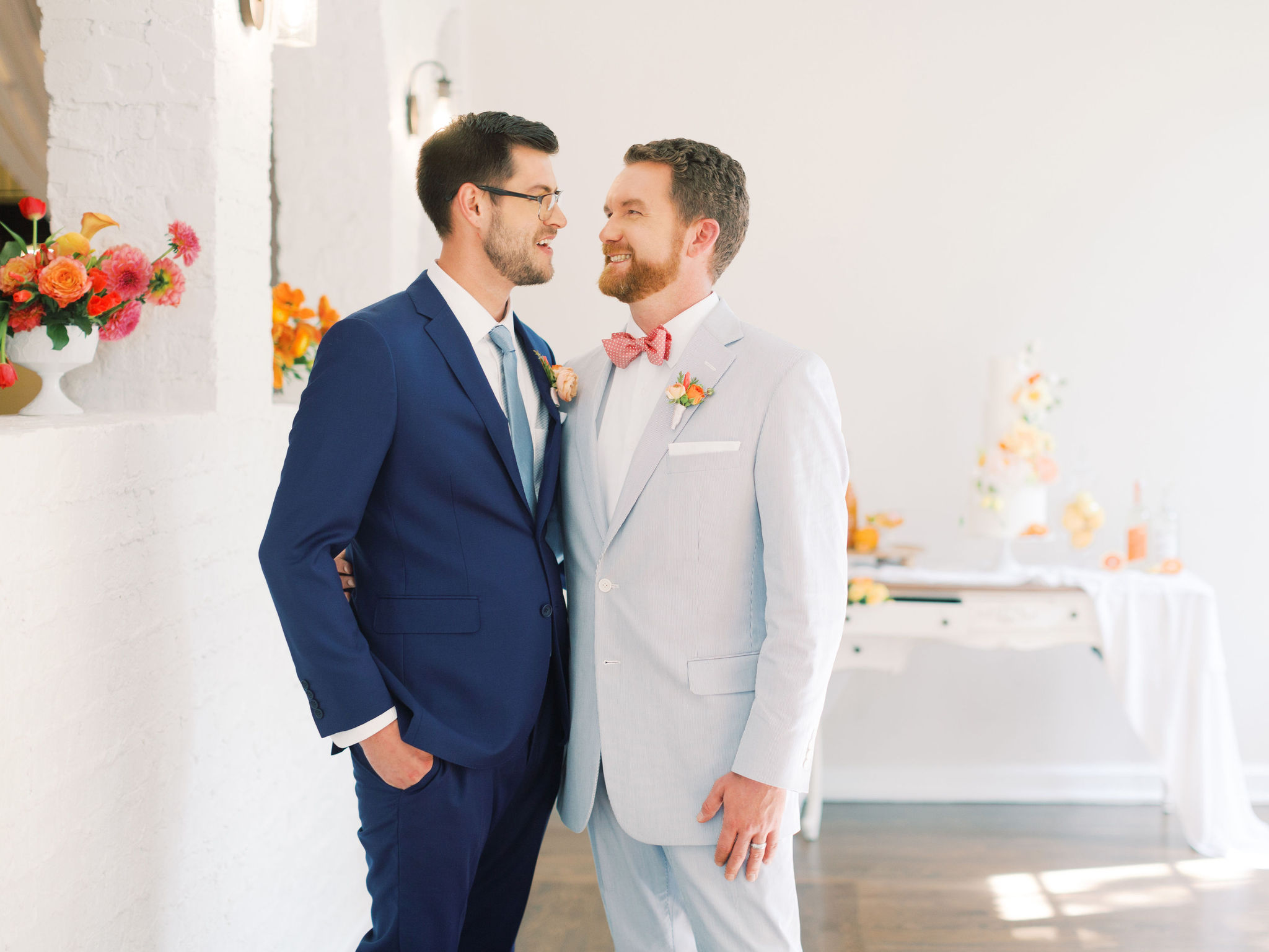 Guys Wedding Fashion for Same Sex