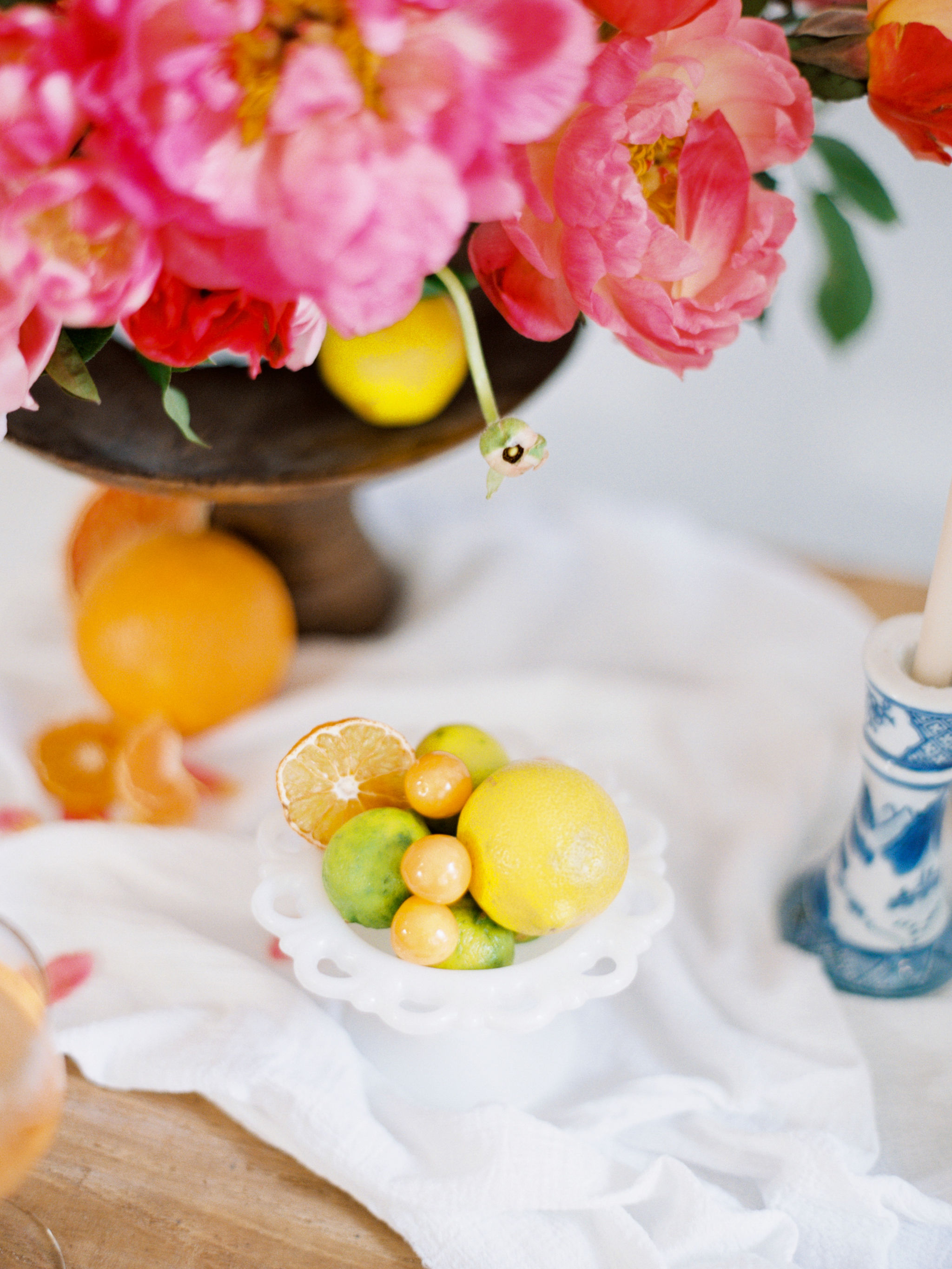 Citrus Wedding Details