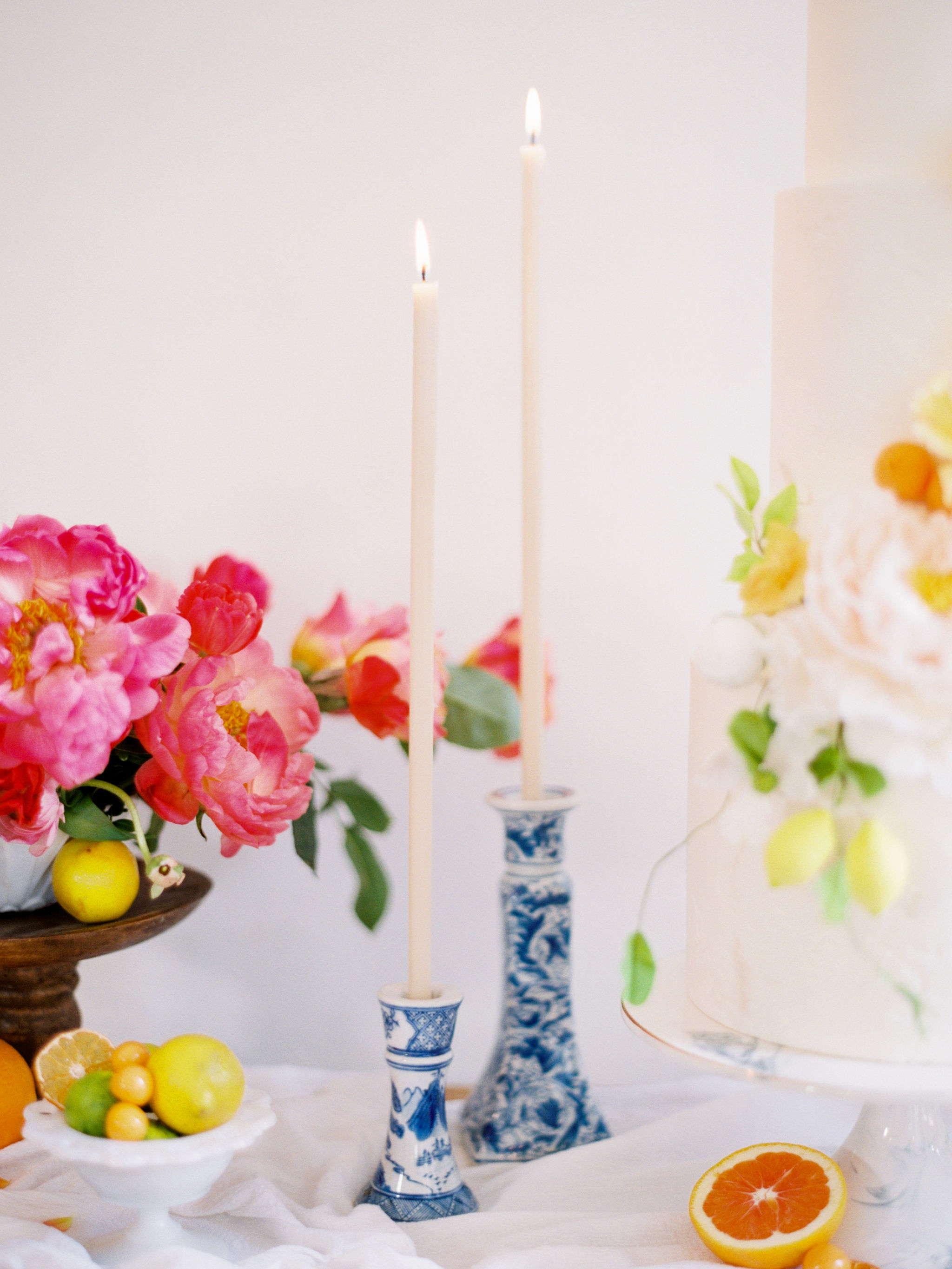 Modern Wedding Candles