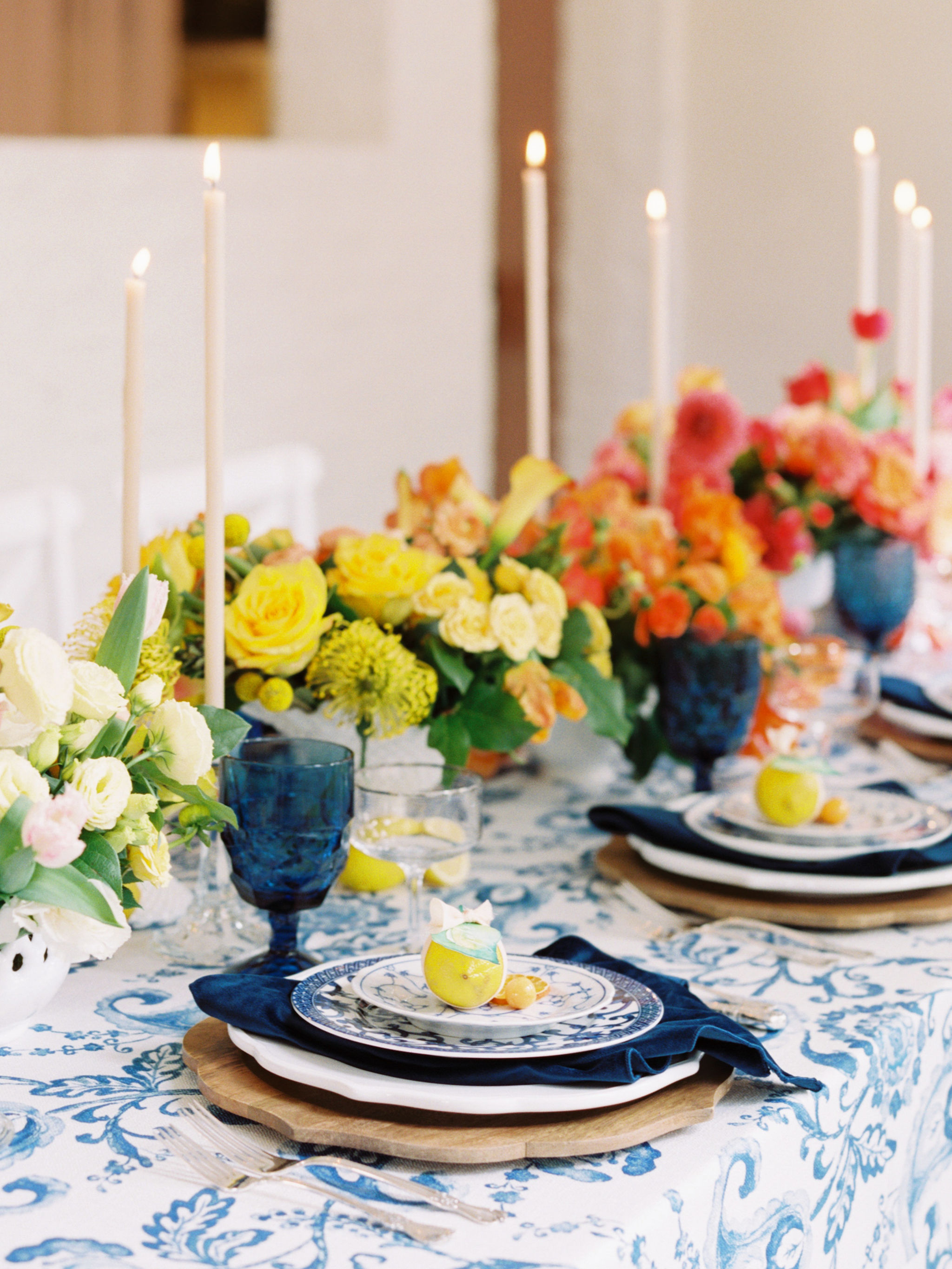 Citrus Wedding Decor Inspiration