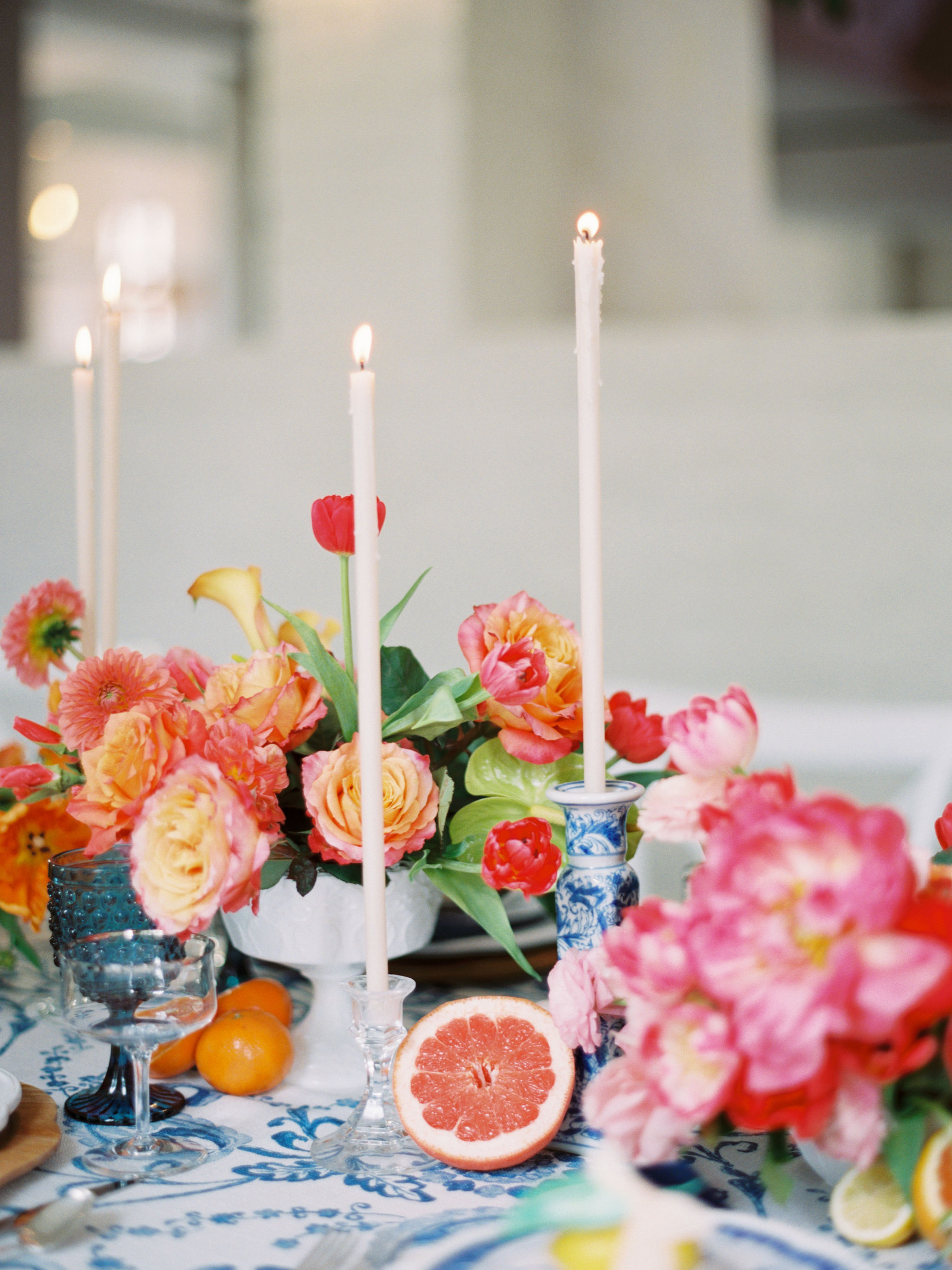 Gay Wedding Citrus Decor