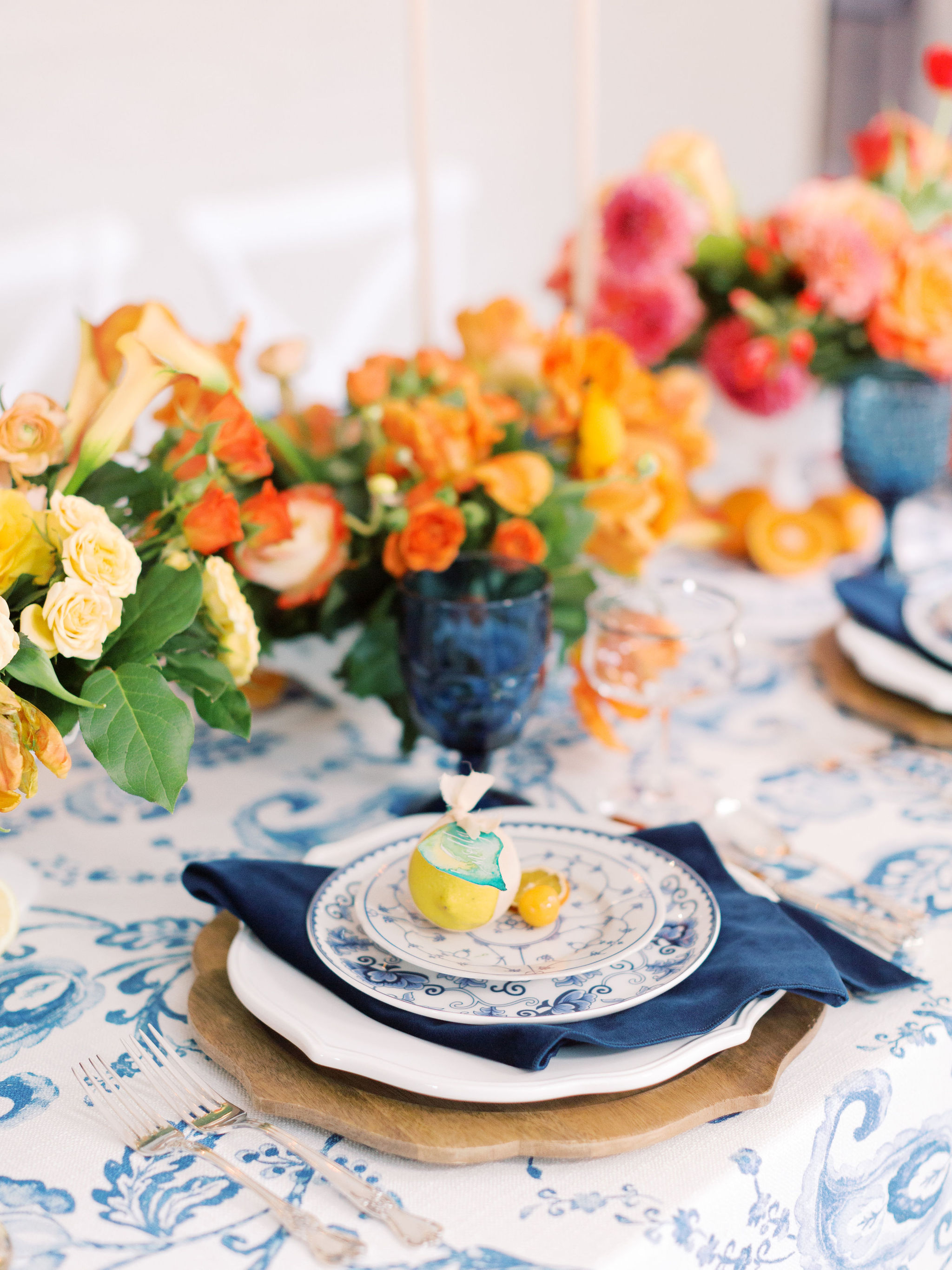 Citrus Place Setting Design