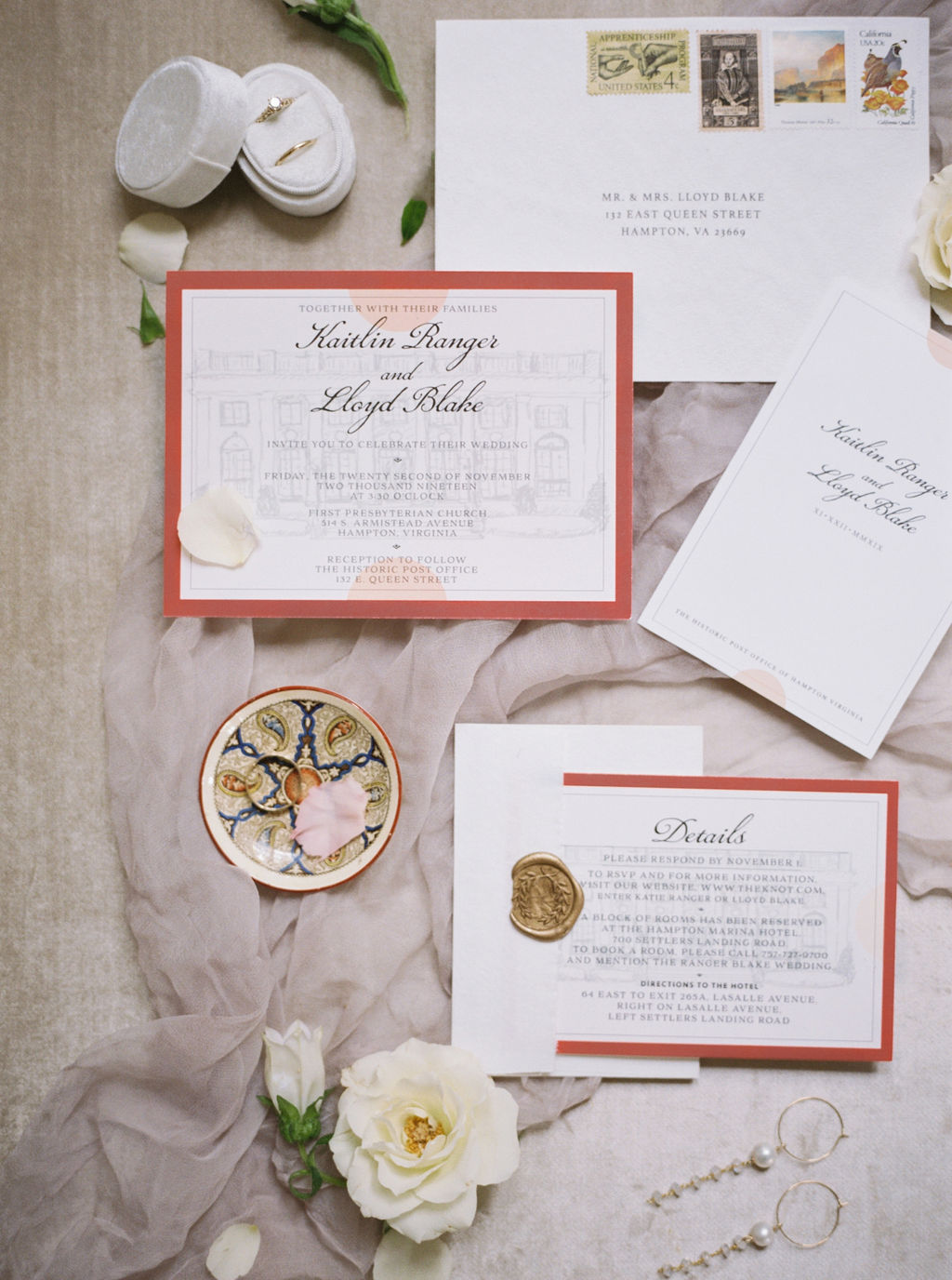 Wedding Flat Lay Styling