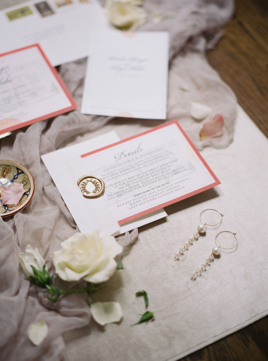 Invitation Flat Lay Styling