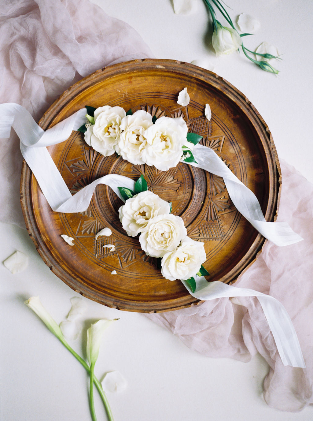 Beautiful Wedding Flat Lay Styling