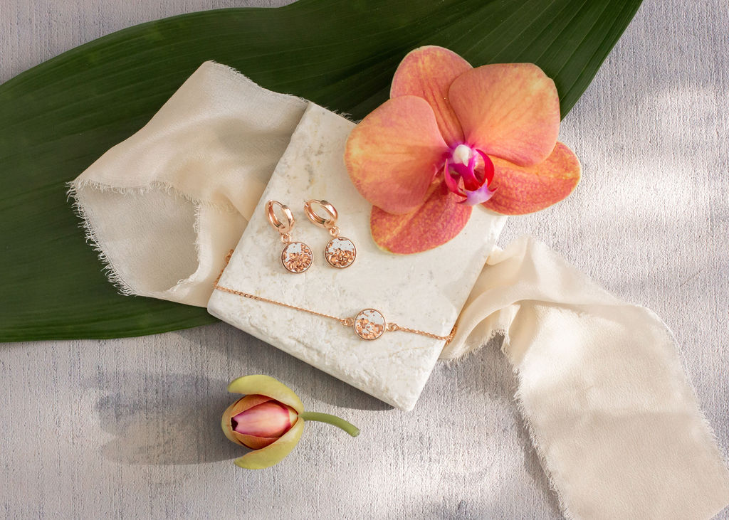 Jewelry Flat Lay Photography
