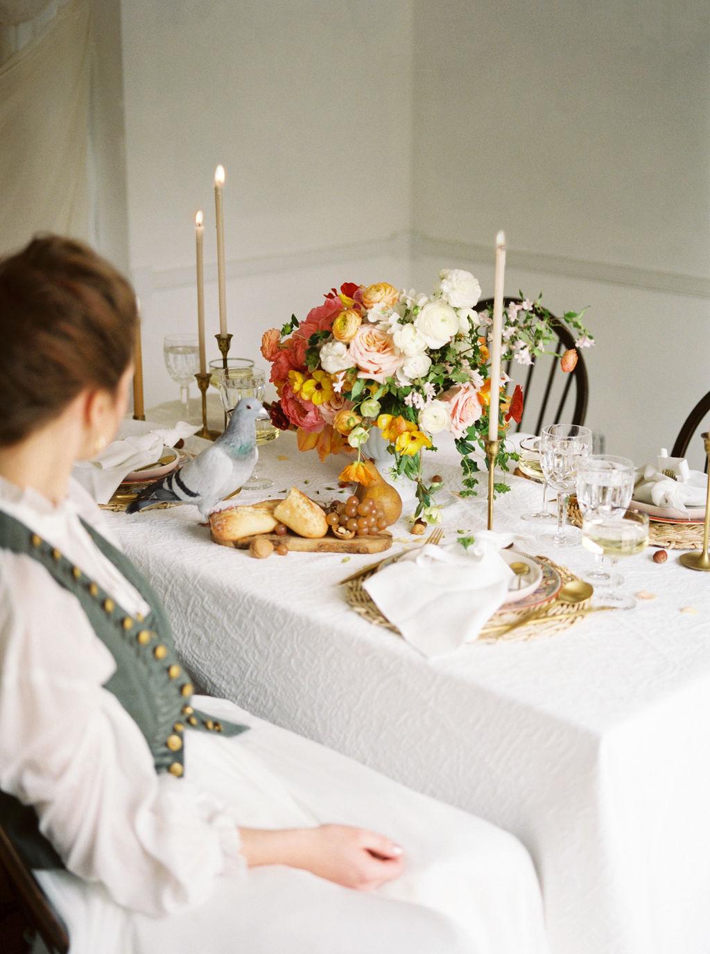 Fine Art Wedding Table