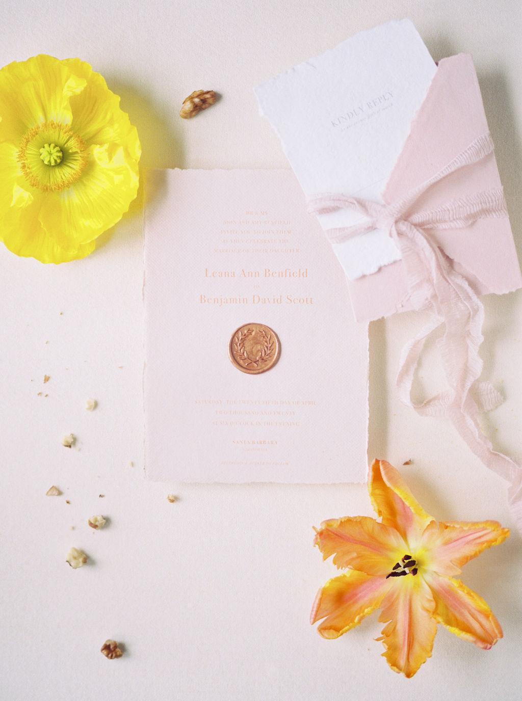 Fine Art Wedding Stationery