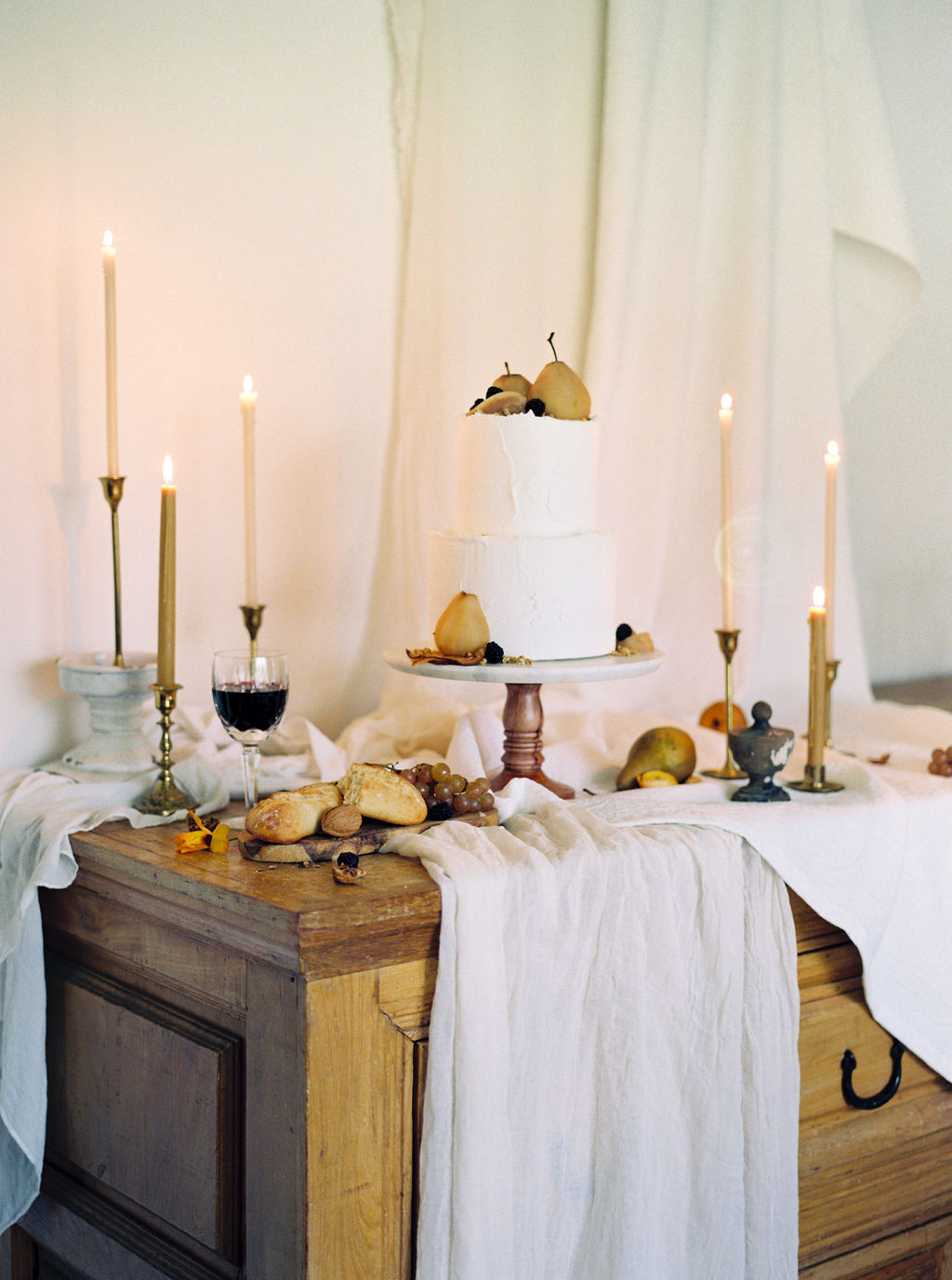 Styled Cake Table