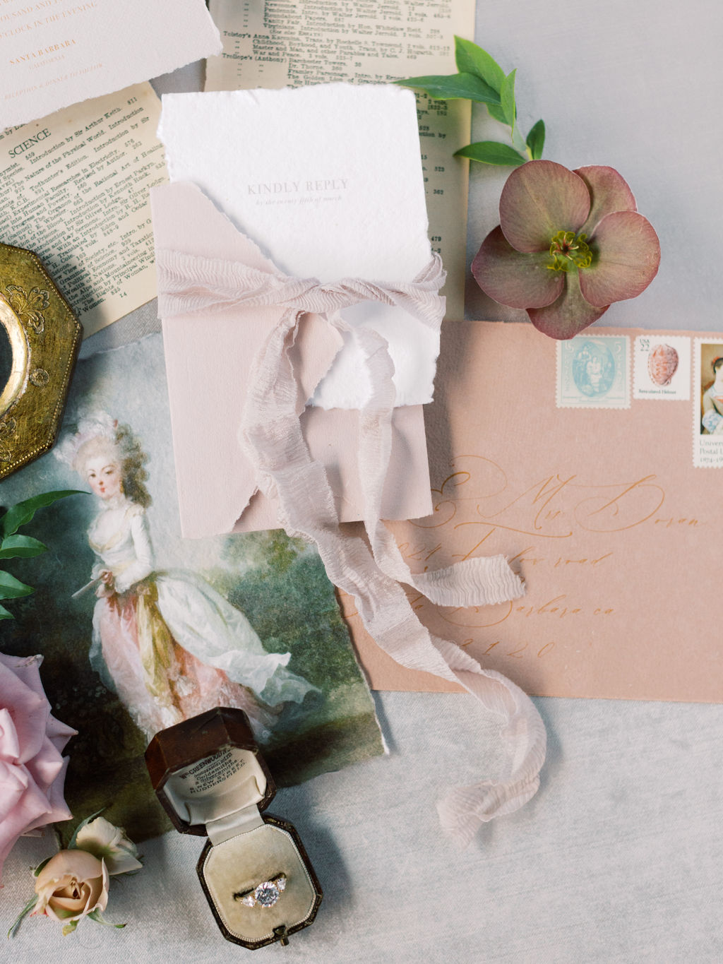 Fine Art Wedding Invites