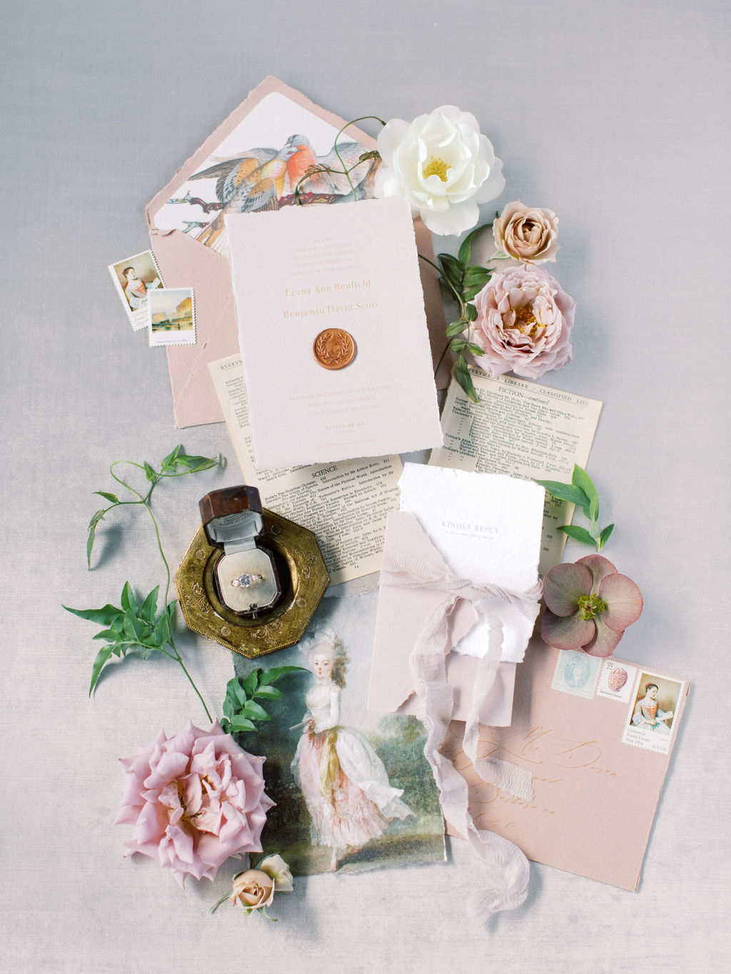 Fine Art Wedding Styling