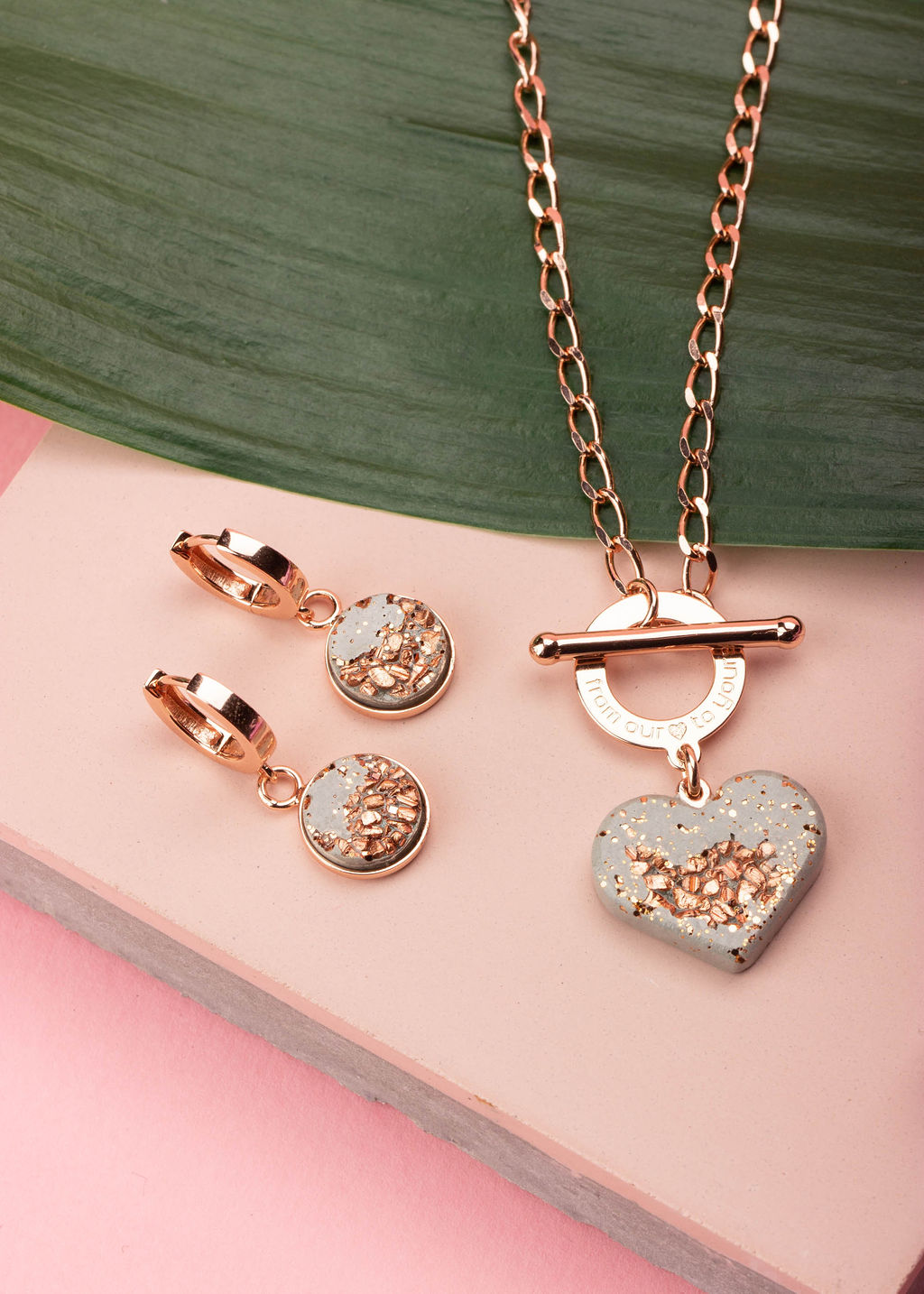 Pink Styled Jewelry Shoot