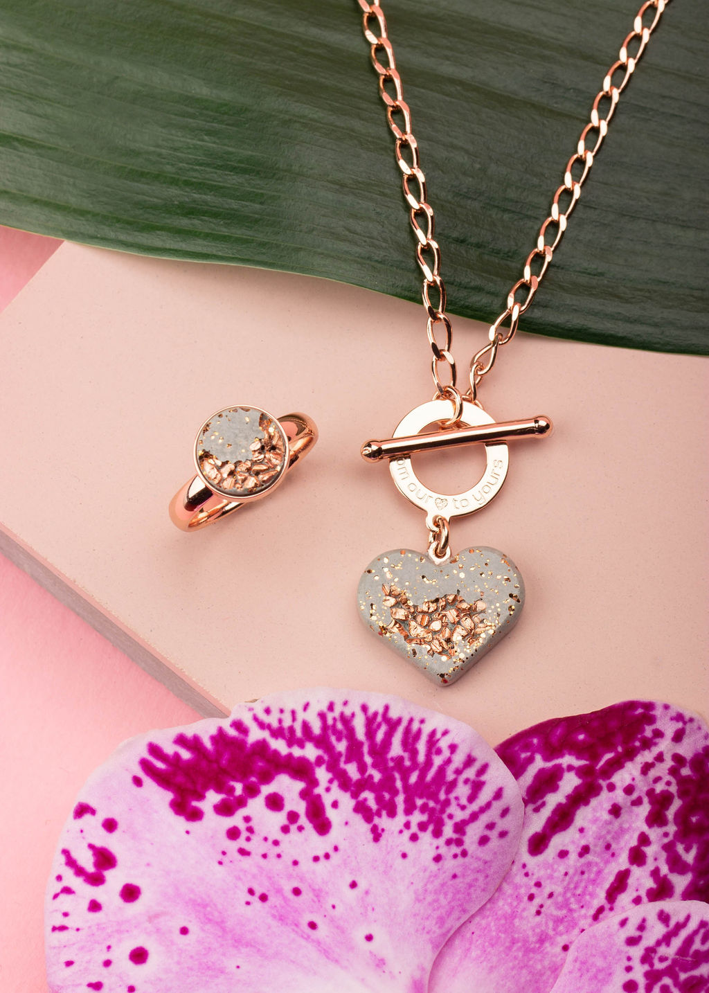 Tropical Jewelry Photography