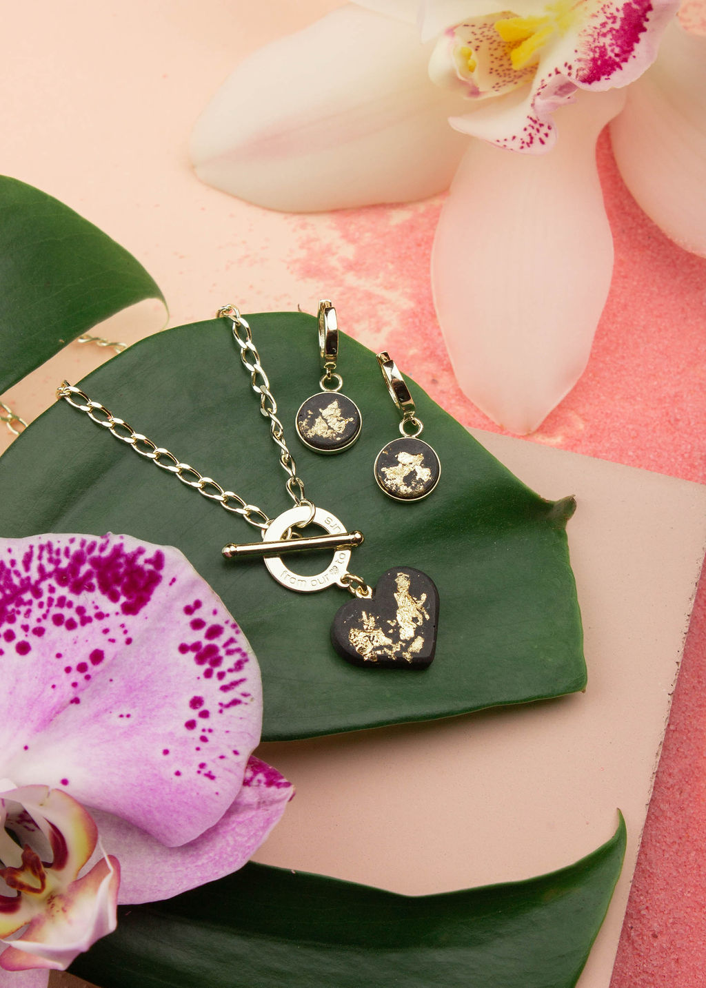 Jungle Themed Jewelry Shoot