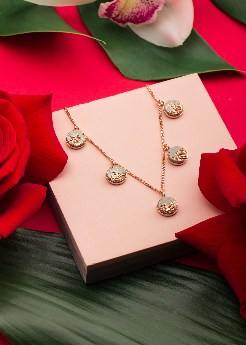 Pink Jewelry Styling