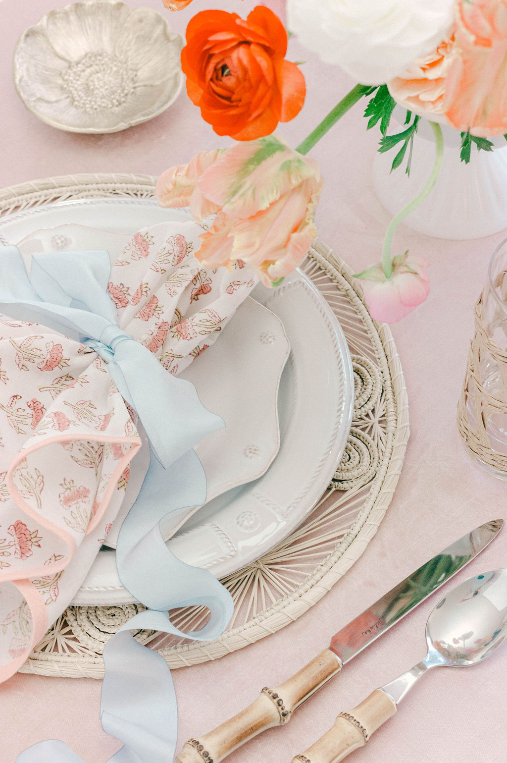 Spring Table Place Setting