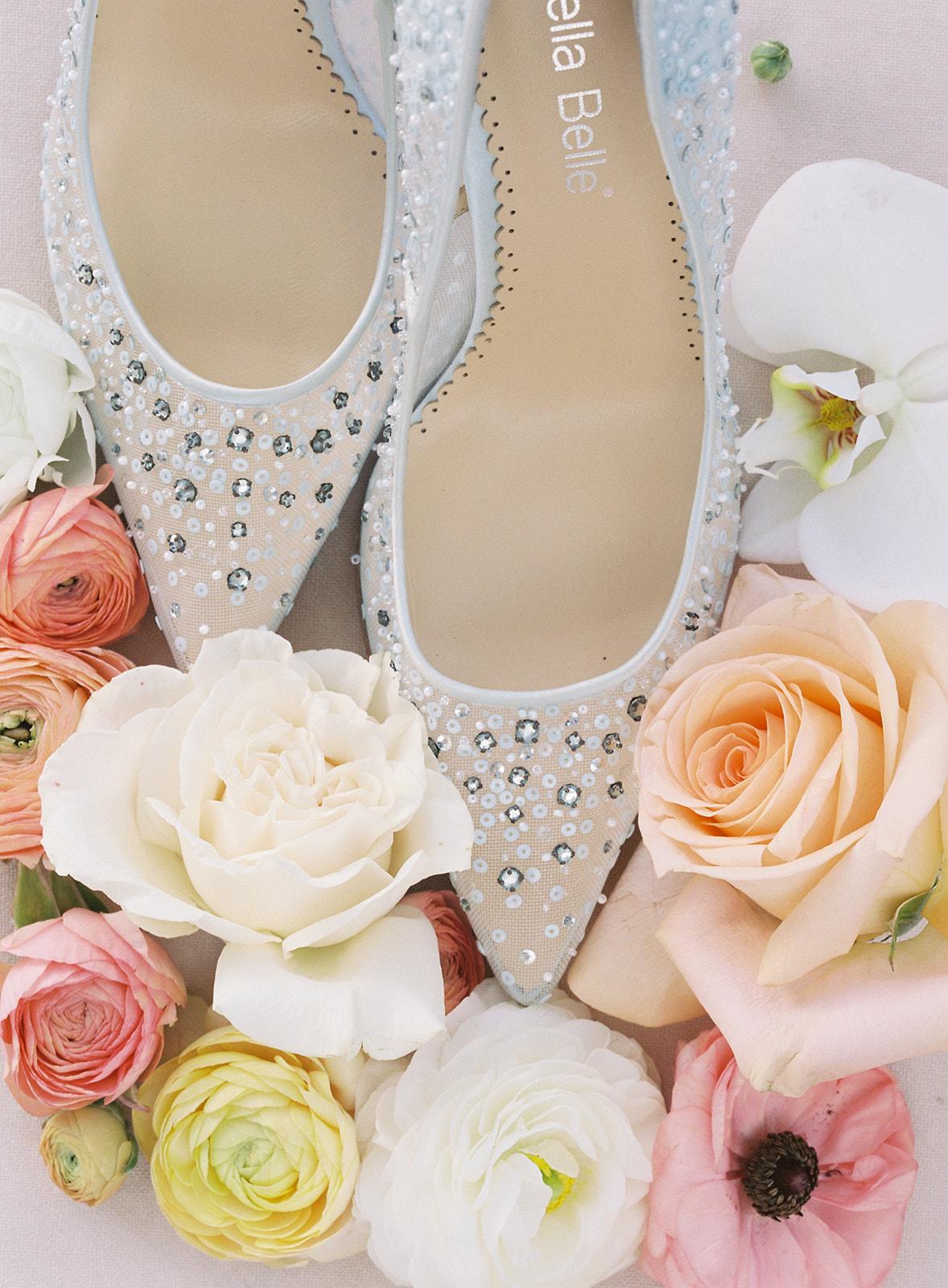 Bridgerton Bella Belle Wedding Shoes
